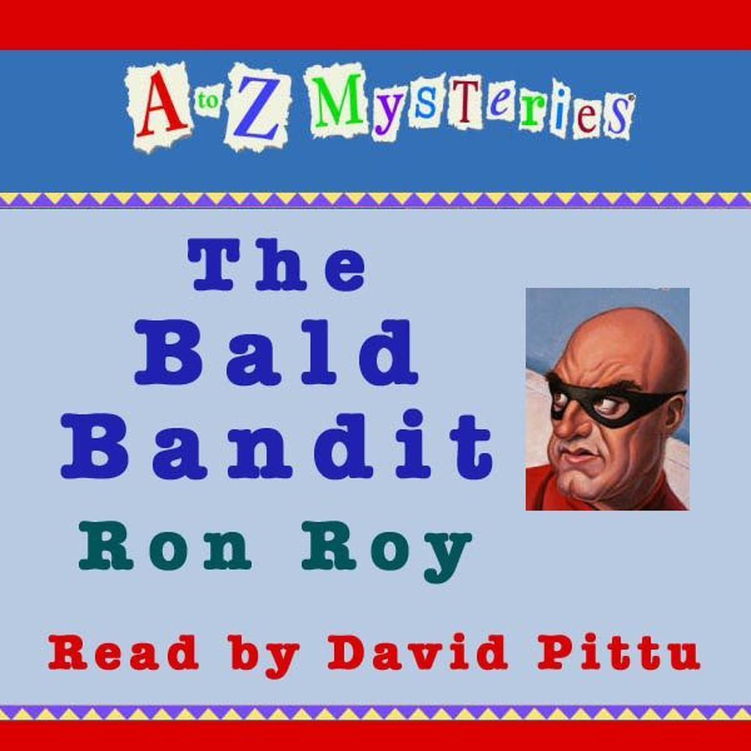 Printable A to Z Mysteries: The Bald Bandit Audiobook Cover Art