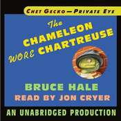 Chet Gecko, Private Eye, Book 1: The Chameleon Wore Chartreuse, by Bruce Hale