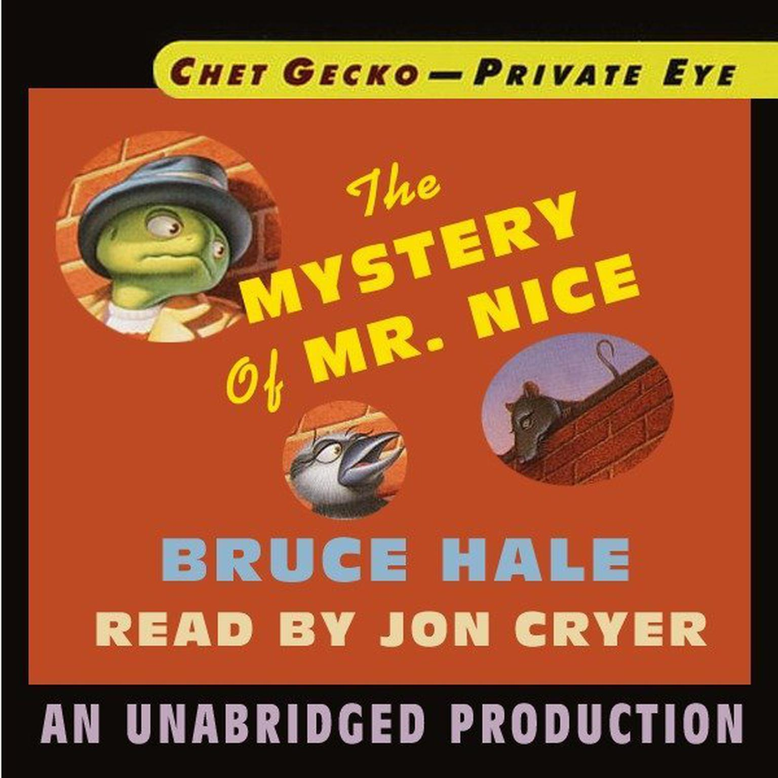 Printable Chet Gecko, Private Eye, Book 2: The Mystery of Mr. Nice Audiobook Cover Art