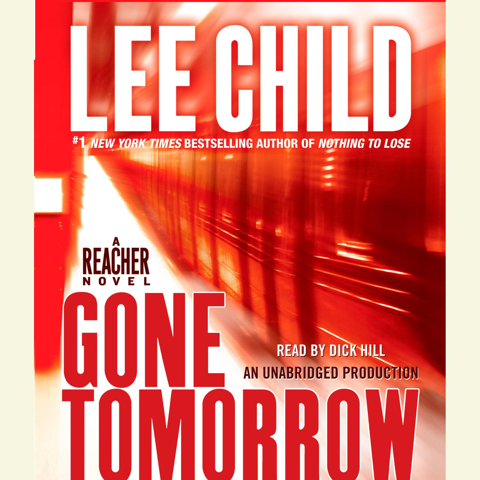 Printable Gone Tomorrow Audiobook Cover Art