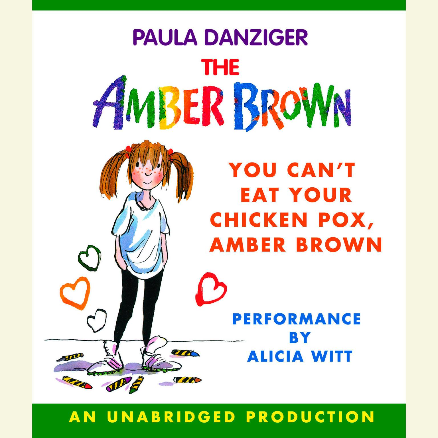 Printable You Can't Eat Your Chicken Pox Amber Brown Audiobook Cover Art