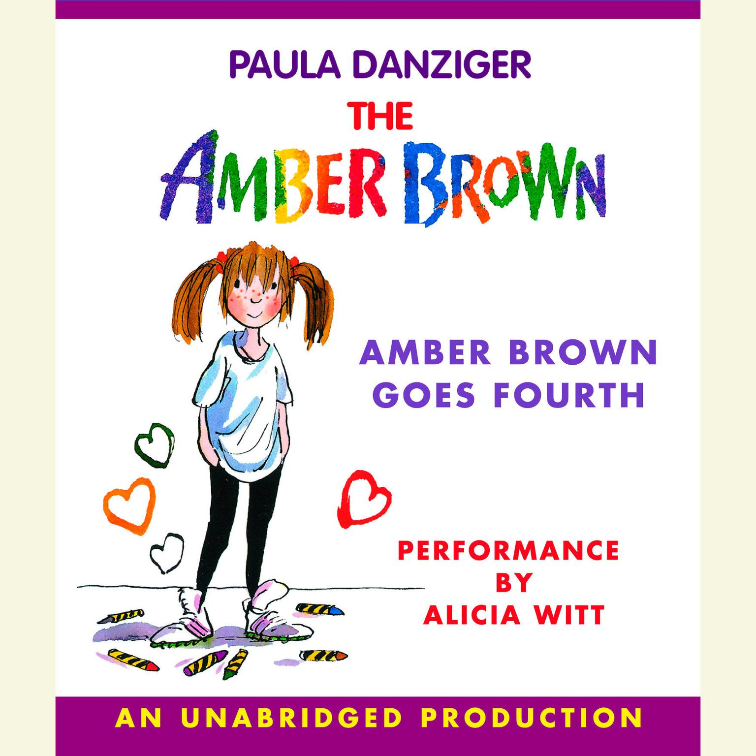 Printable Amber Brown Goes Fourth Audiobook Cover Art