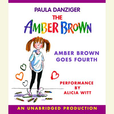Amber Brown Goes Fourth Audiobook, by Paula Danziger
