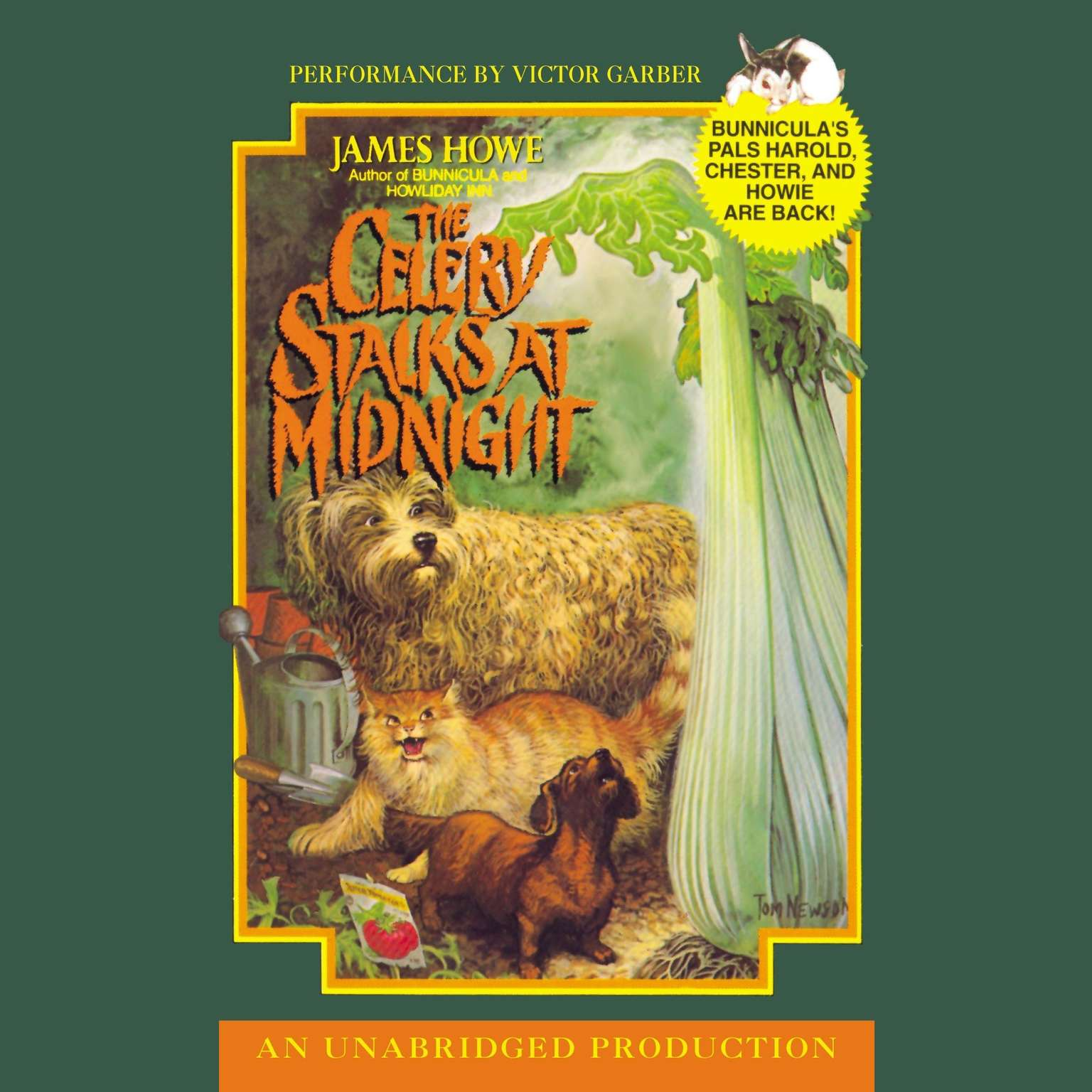 Printable The Celery Stalks at Midnight Audiobook Cover Art