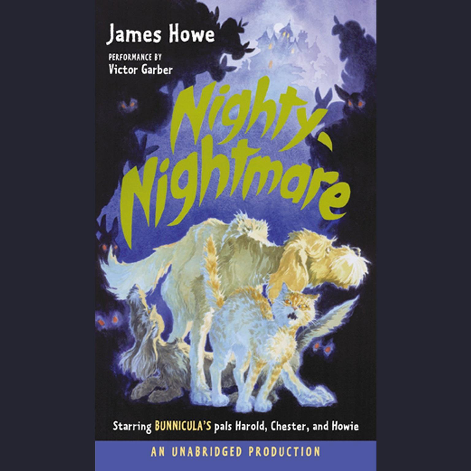 Printable Bunnicula: Nighty-Nightmare Audiobook Cover Art