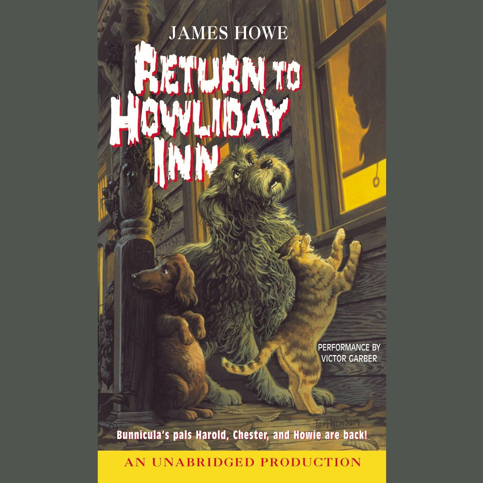 Printable Return to Howliday Inn Audiobook Cover Art