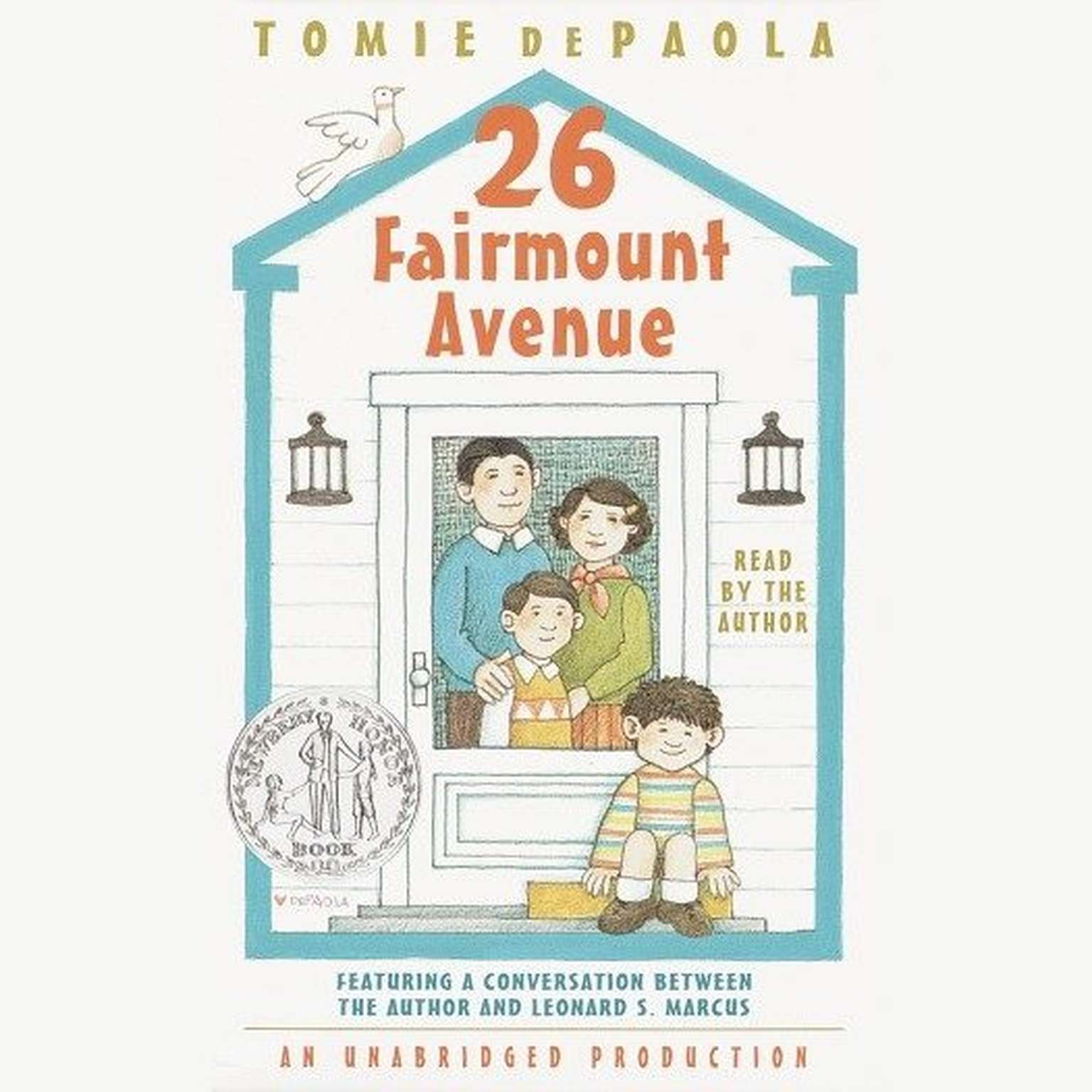 Printable 26 Fairmount Avenue: What a Year! Audiobook Cover Art