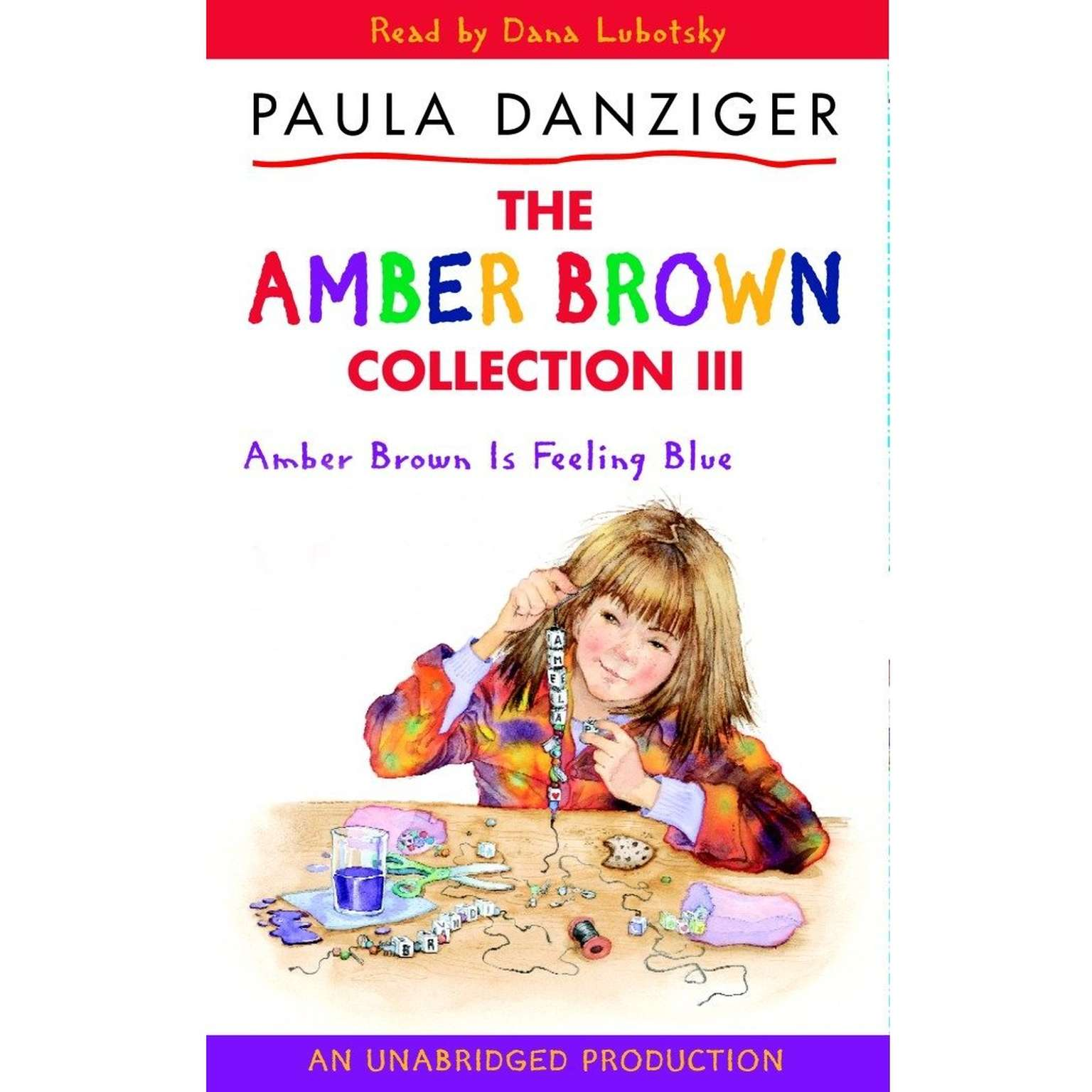 Printable Amber Brown Is Feeling Blue Audiobook Cover Art