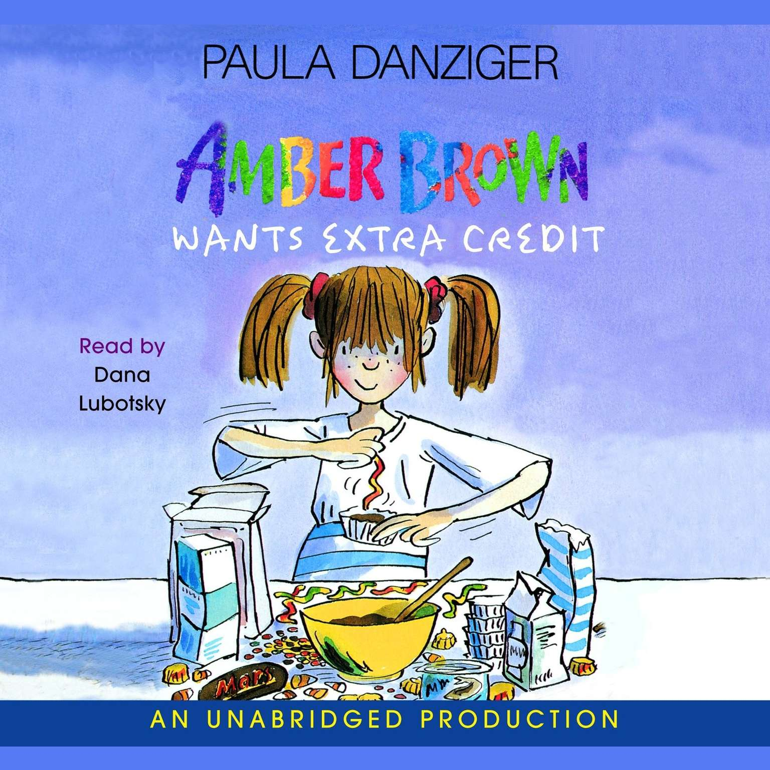 Printable Amber Brown Wants Extra Credit Audiobook Cover Art