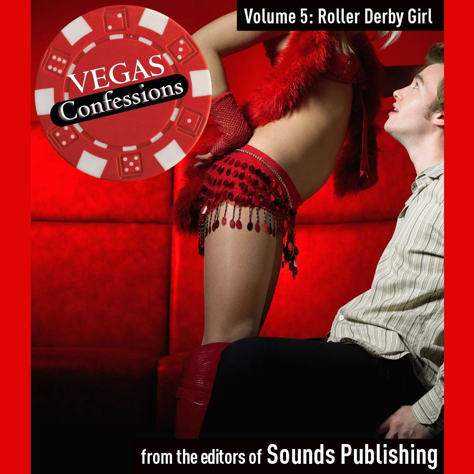 Printable Vegas Confessions 5: Roller Derby Girl Audiobook Cover Art