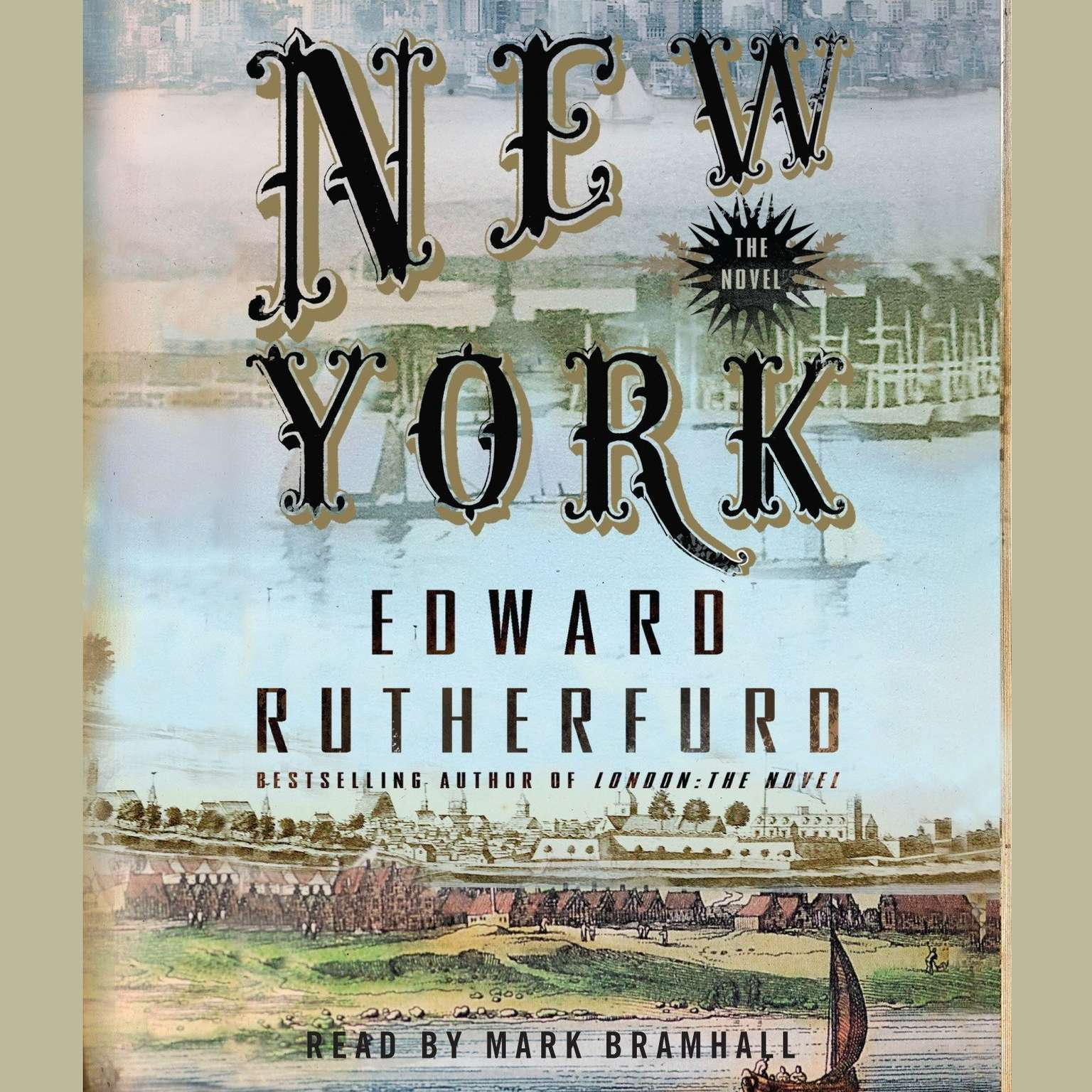 Printable New York: The Novel Audiobook Cover Art
