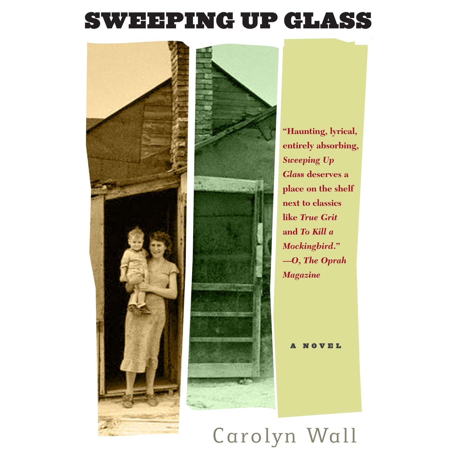 Printable Sweeping Up Glass Audiobook Cover Art