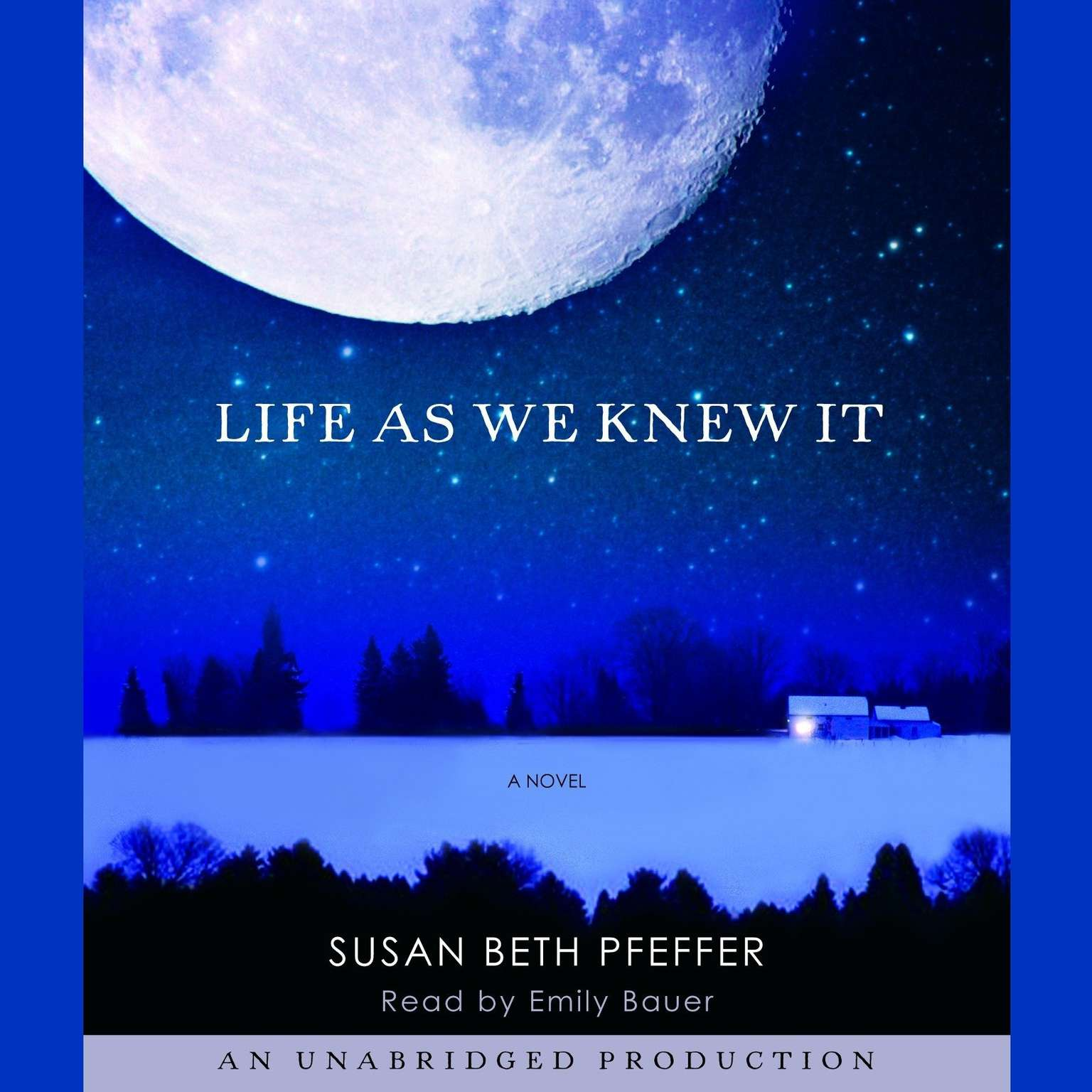 Printable Life as we Knew It Audiobook Cover Art