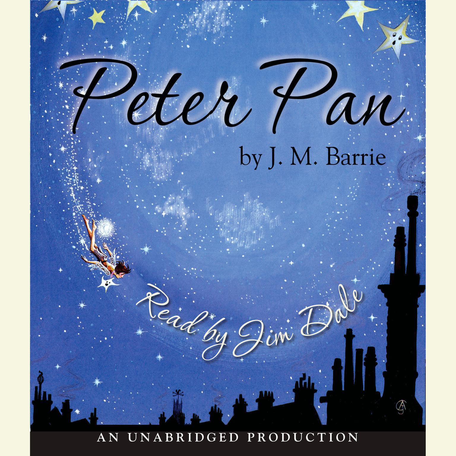 Printable Peter Pan Audiobook Cover Art