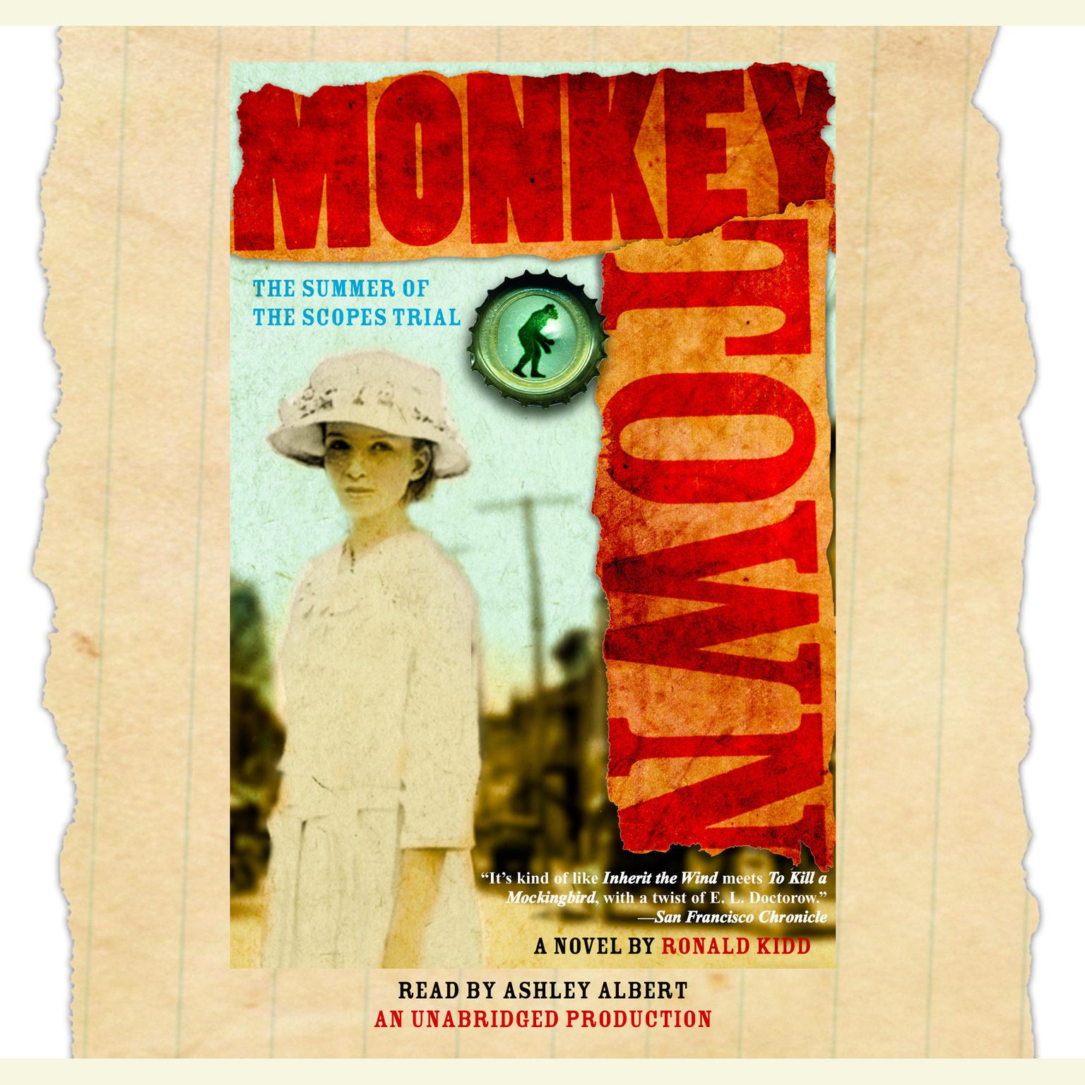 Printable Monkey Town: The Summer of the Scopes Trial Audiobook Cover Art