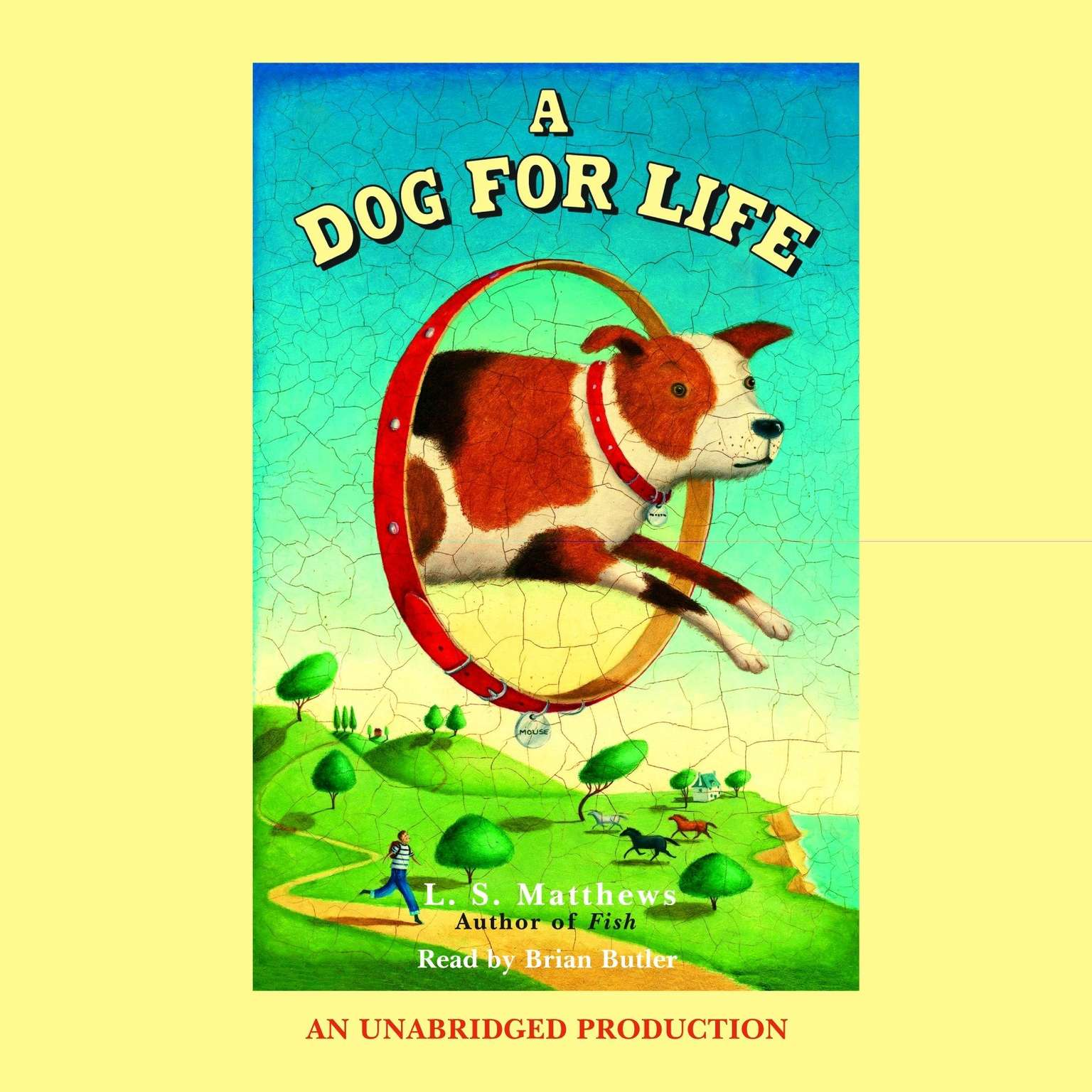 Printable A Dog for Life Audiobook Cover Art