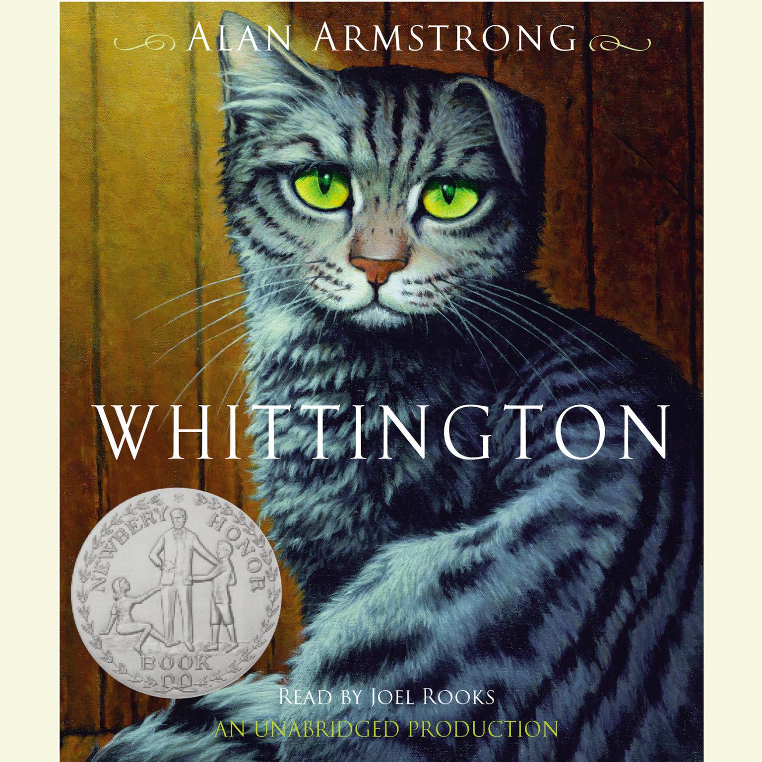 Printable Whittington Audiobook Cover Art