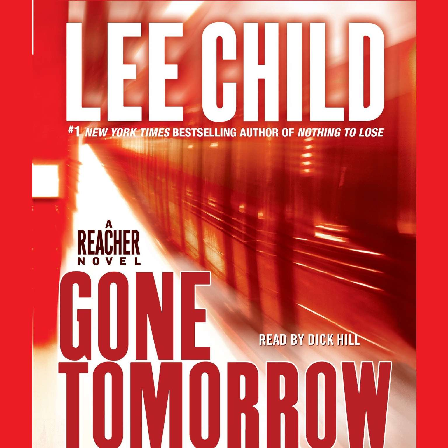 Printable Gone Tomorrow: A Jack Reacher Novel Audiobook Cover Art