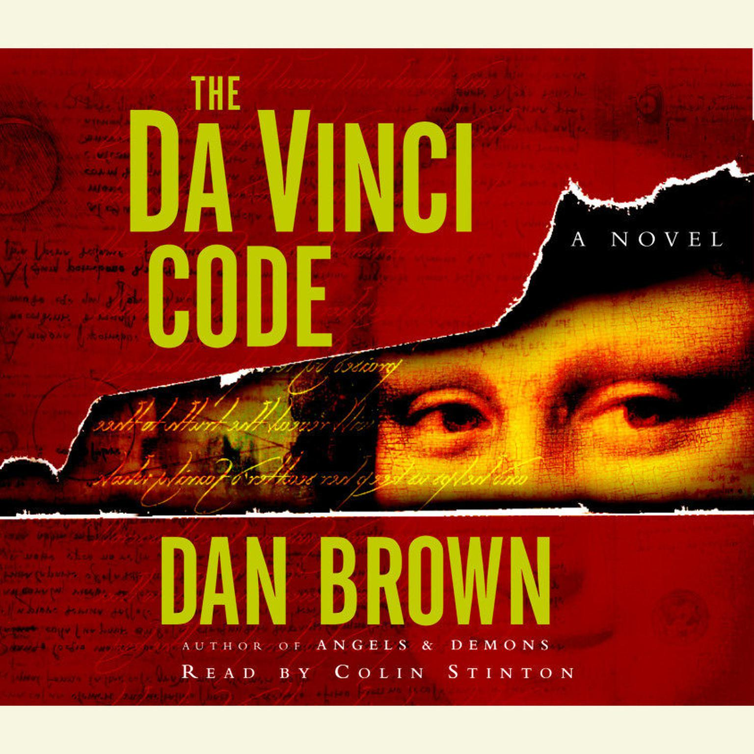Printable The Da Vinci Code: A Novel Audiobook Cover Art