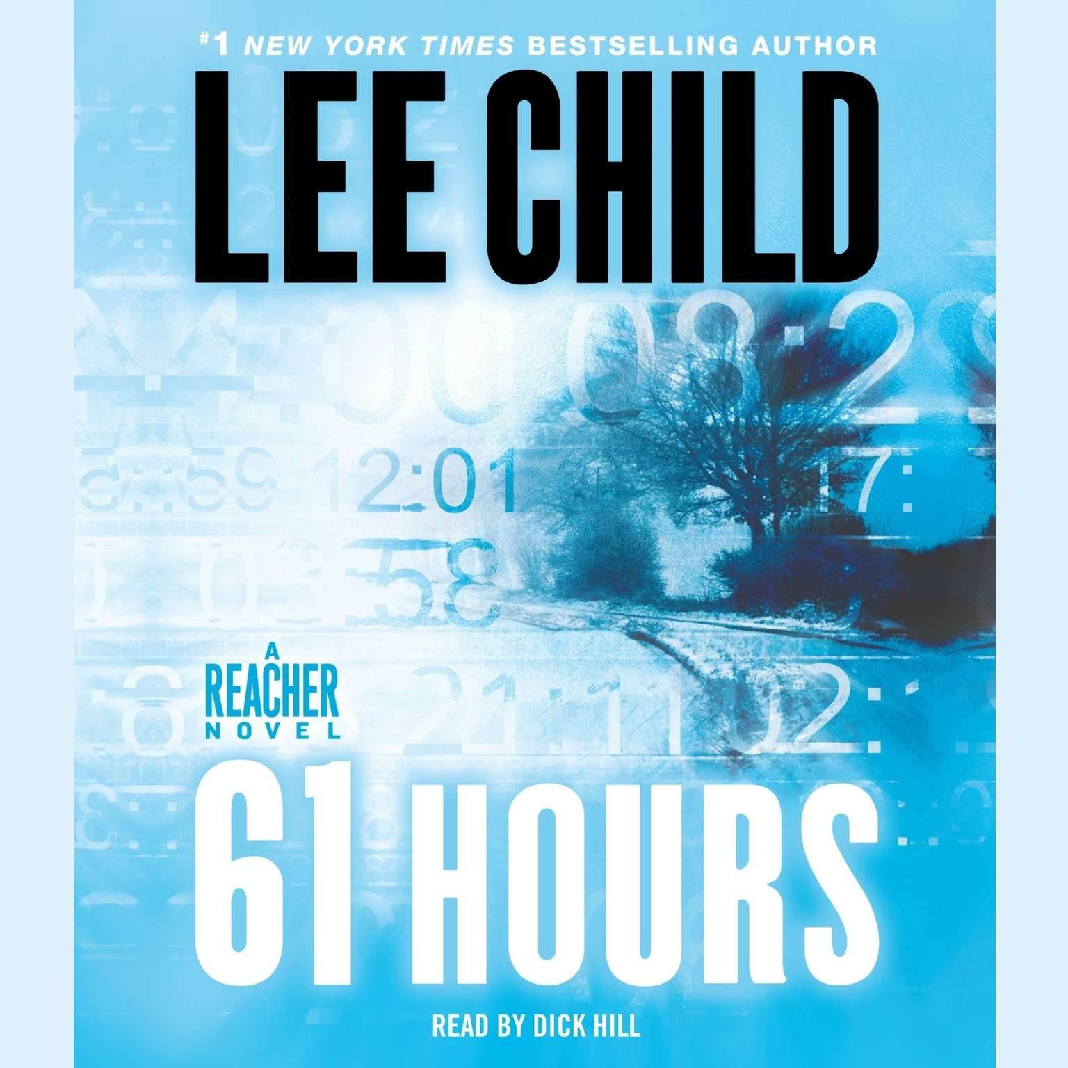 Printable 61 Hours: A Jack Reacher Novel Audiobook Cover Art