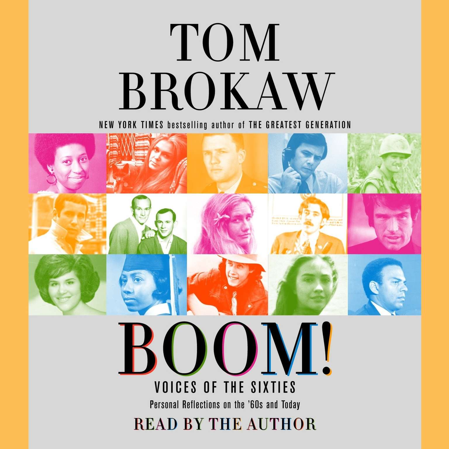Printable Boom!: Voices of the Sixties Personal Reflections on the '60s and Today Audiobook Cover Art