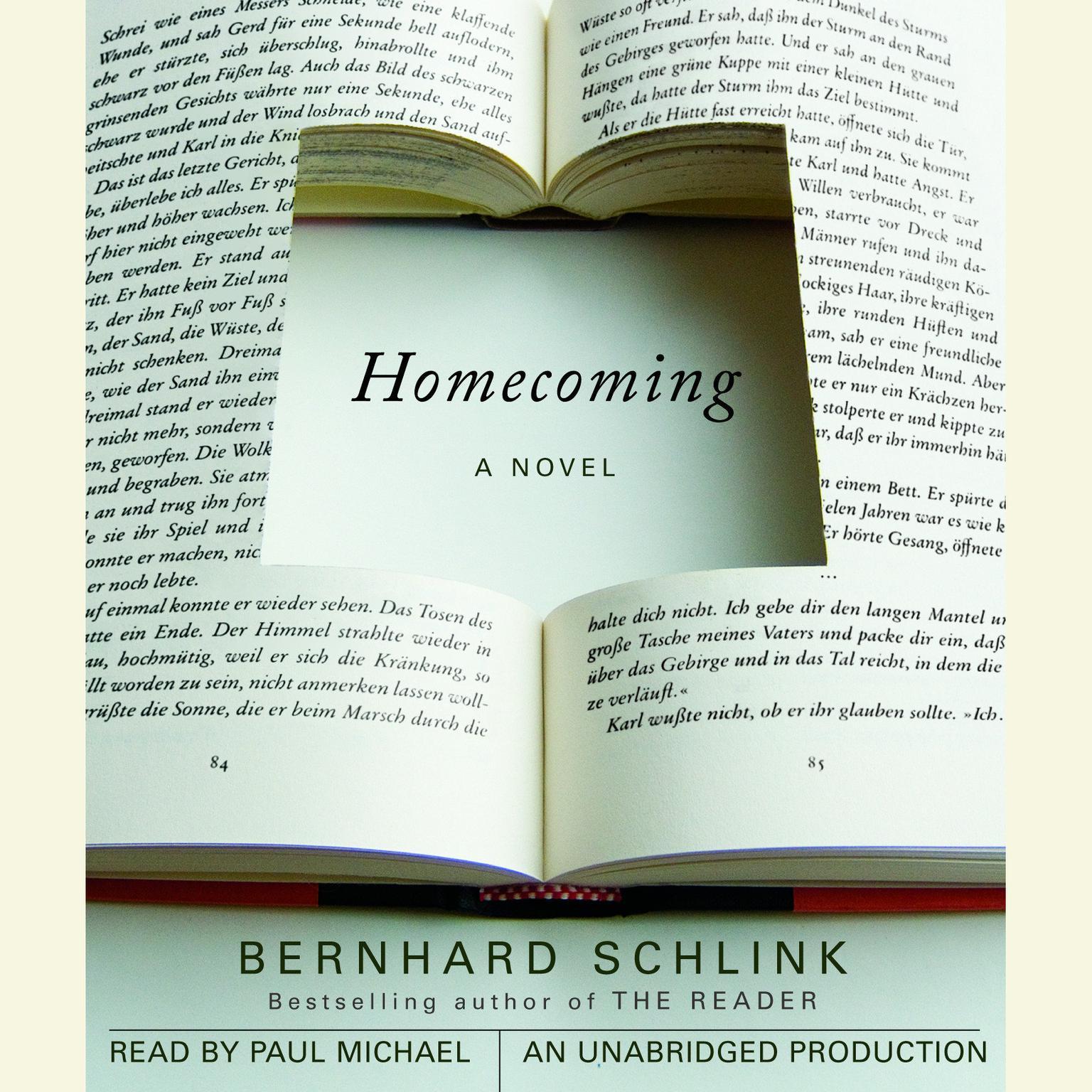 Printable Homecoming Audiobook Cover Art