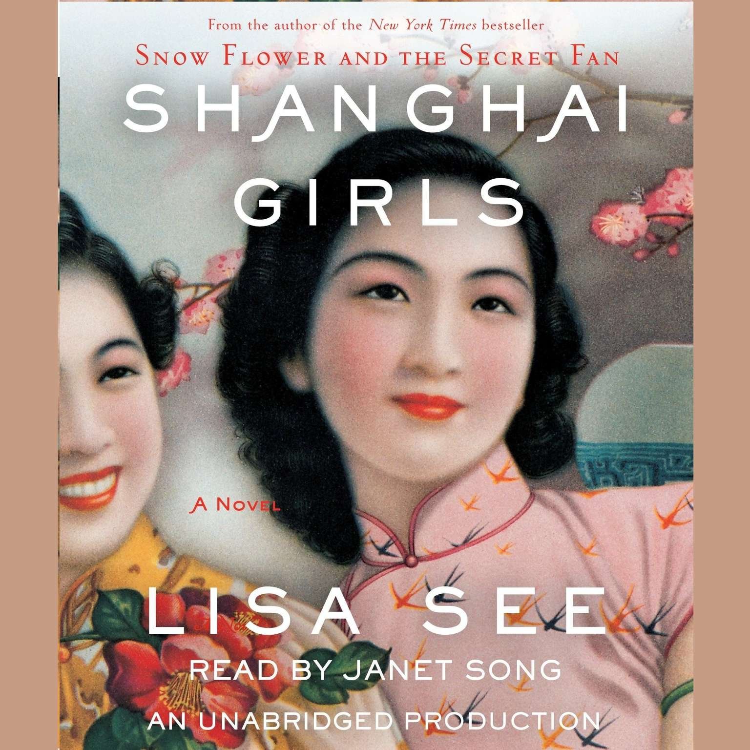 Printable Shanghai Girls: A Novel Audiobook Cover Art