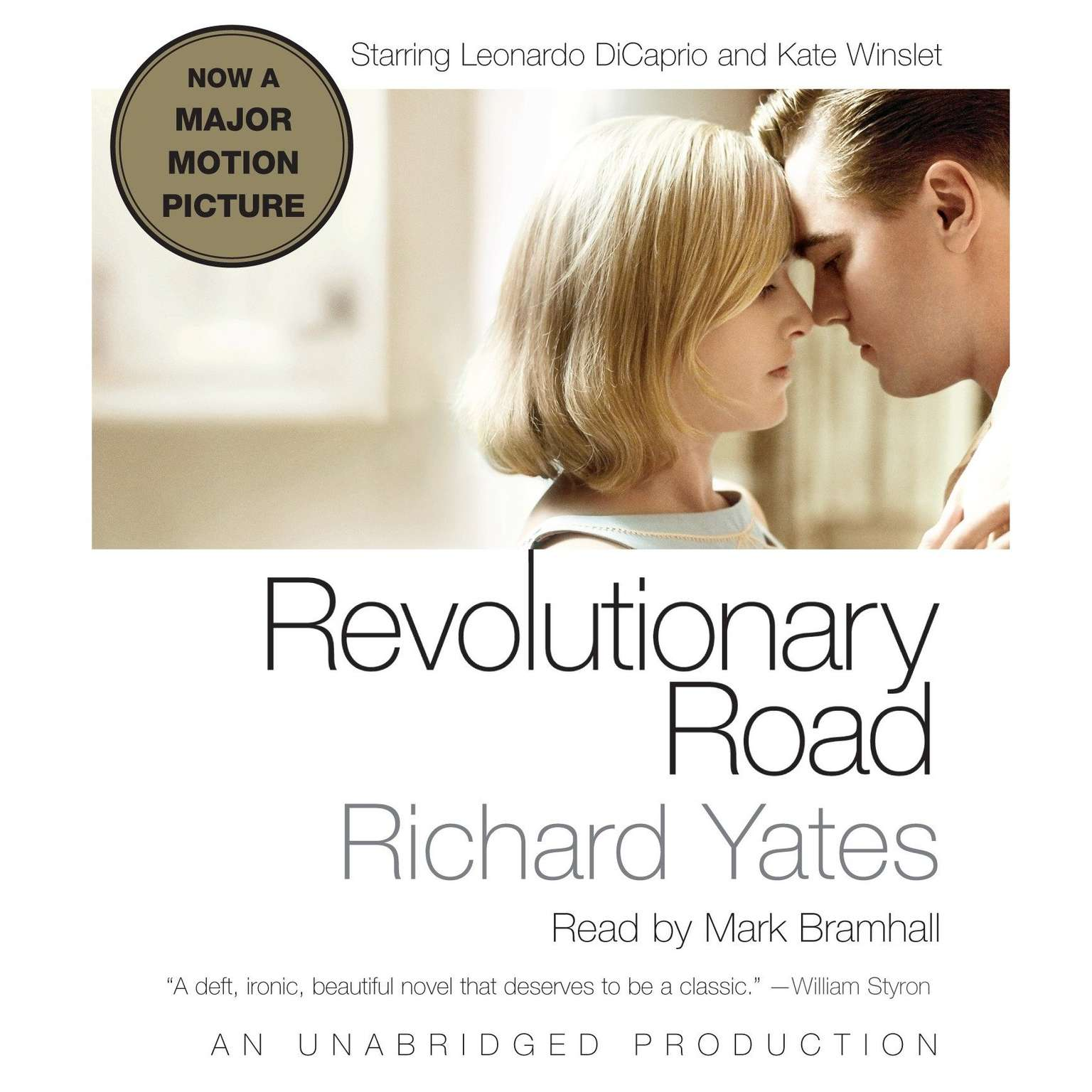 Printable Revolutionary Road Audiobook Cover Art