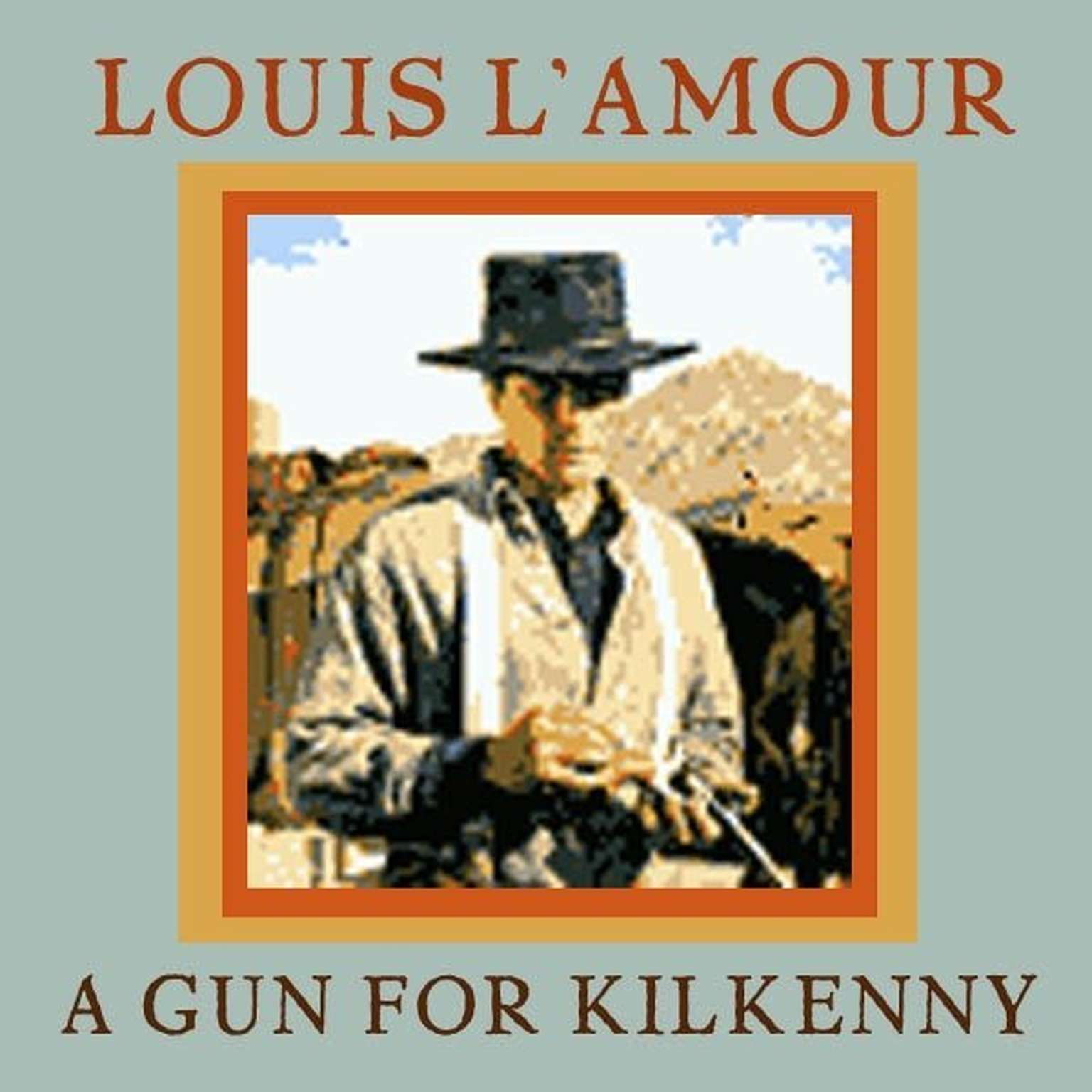 Printable A Gun for Kilkenny Audiobook Cover Art
