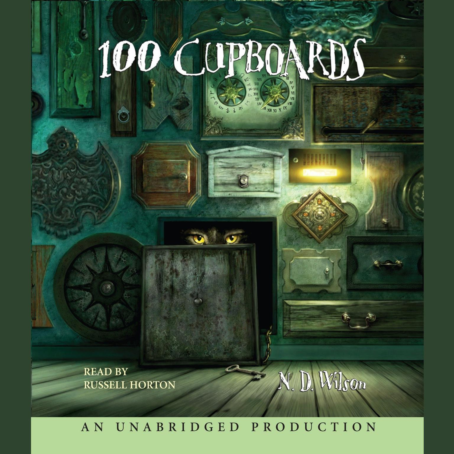 Printable 100 Cupboards: Book 1 of the 100 Cupboards Audiobook Cover Art