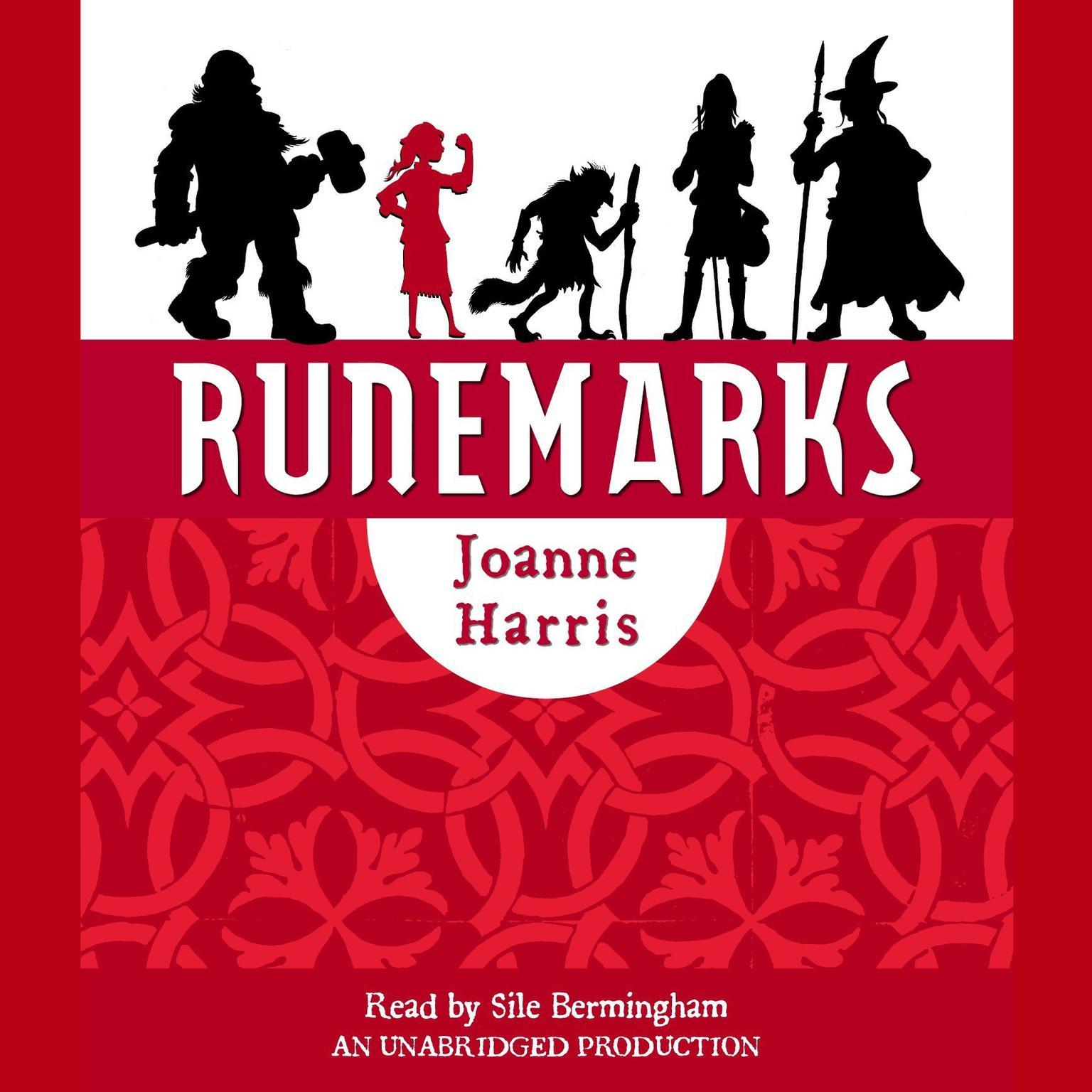 Printable Runemarks Audiobook Cover Art