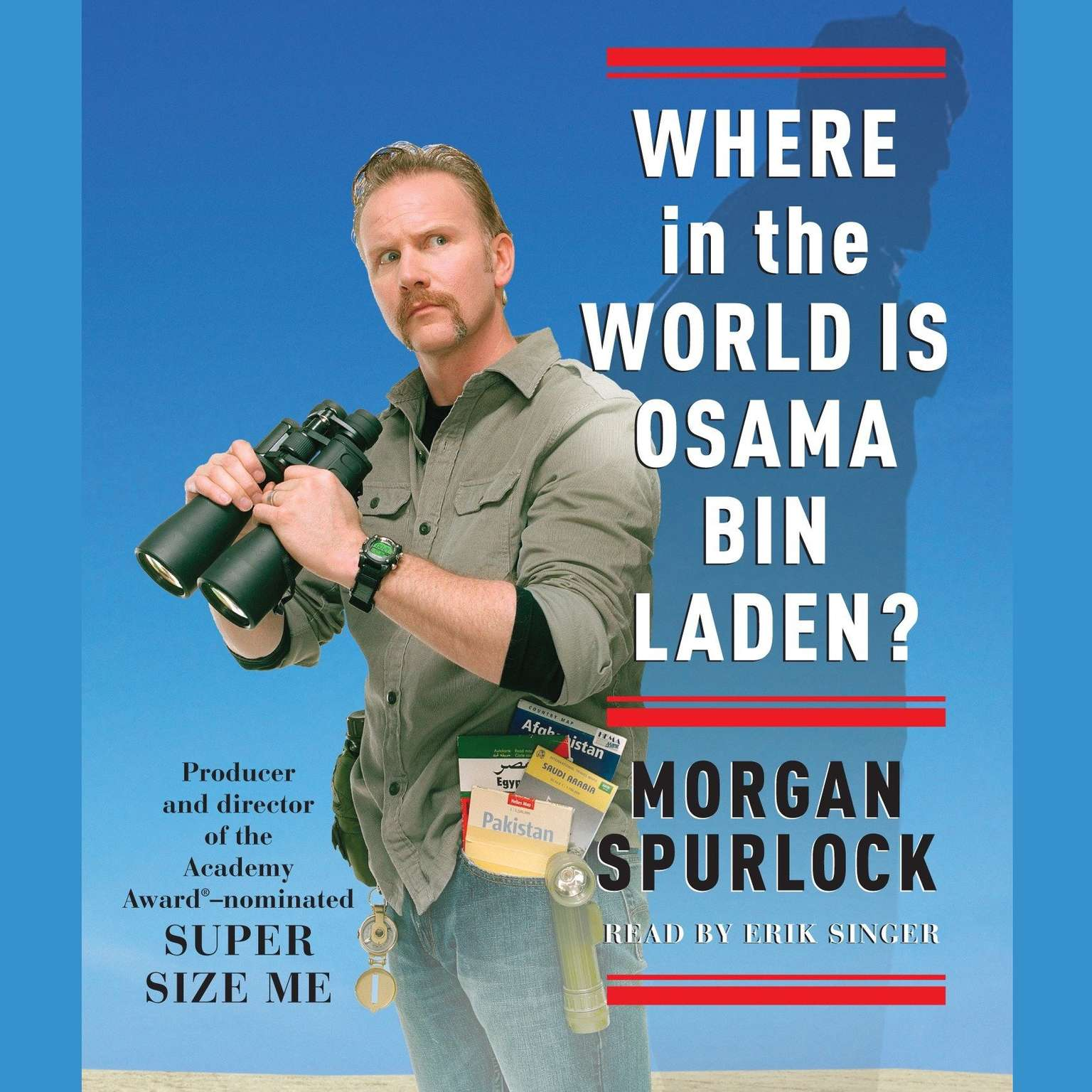 Printable Where in the World Is Osama bin Laden? Audiobook Cover Art