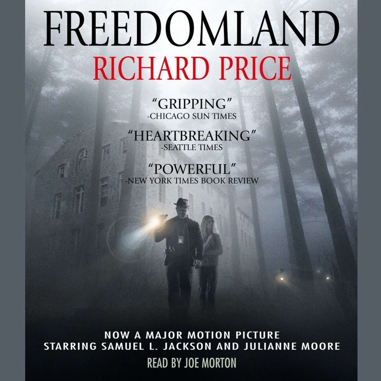 Printable Freedomland Audiobook Cover Art