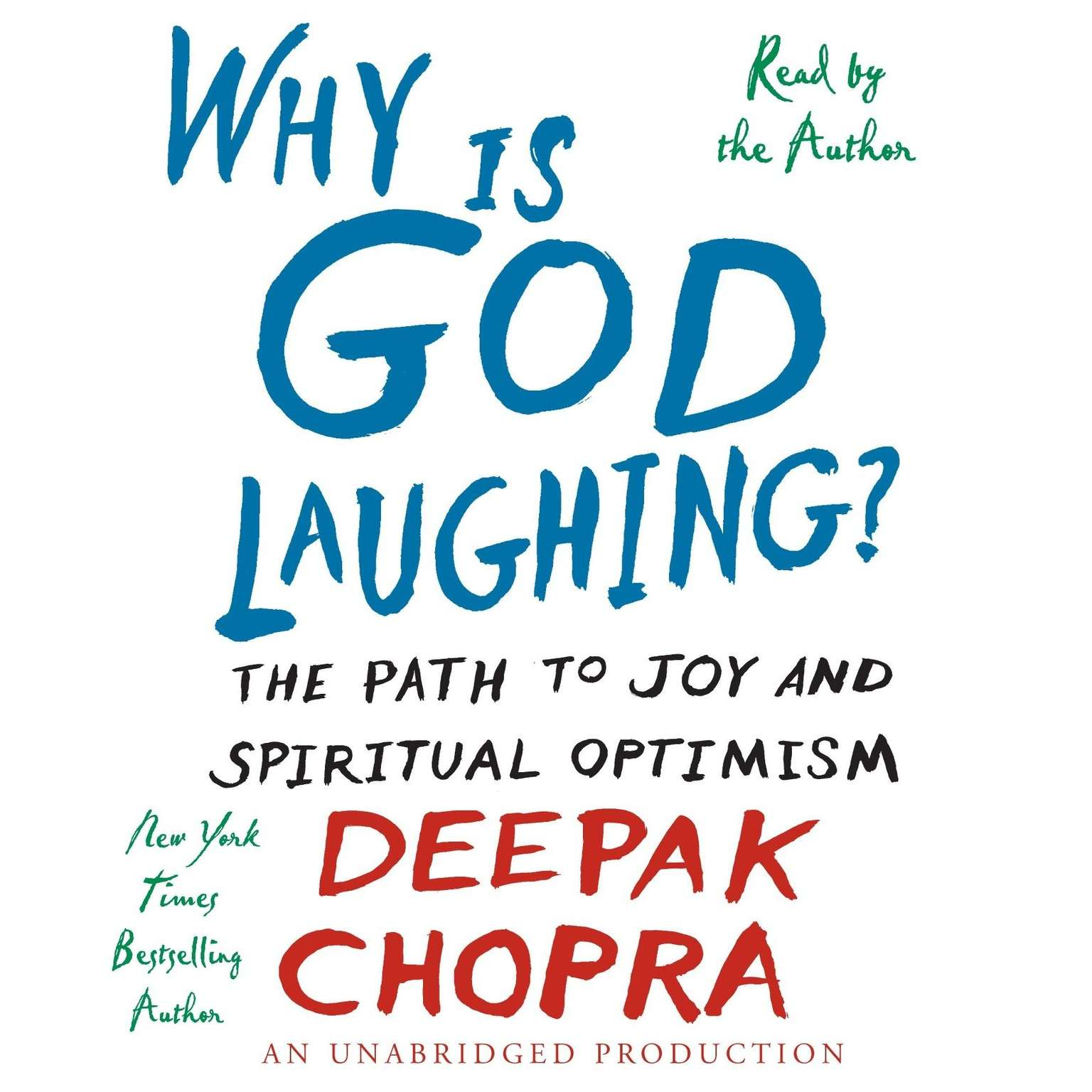 Printable Why is God Laughing?: The Path to Joy and Spiritual Optimism Audiobook Cover Art