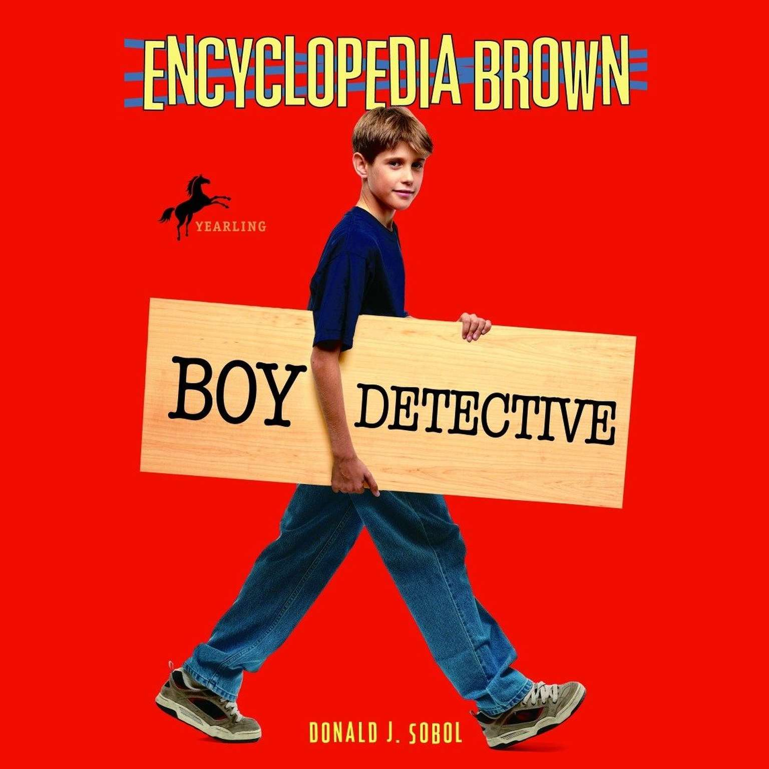 Printable Encyclopedia Brown, Boy Detective Audiobook Cover Art