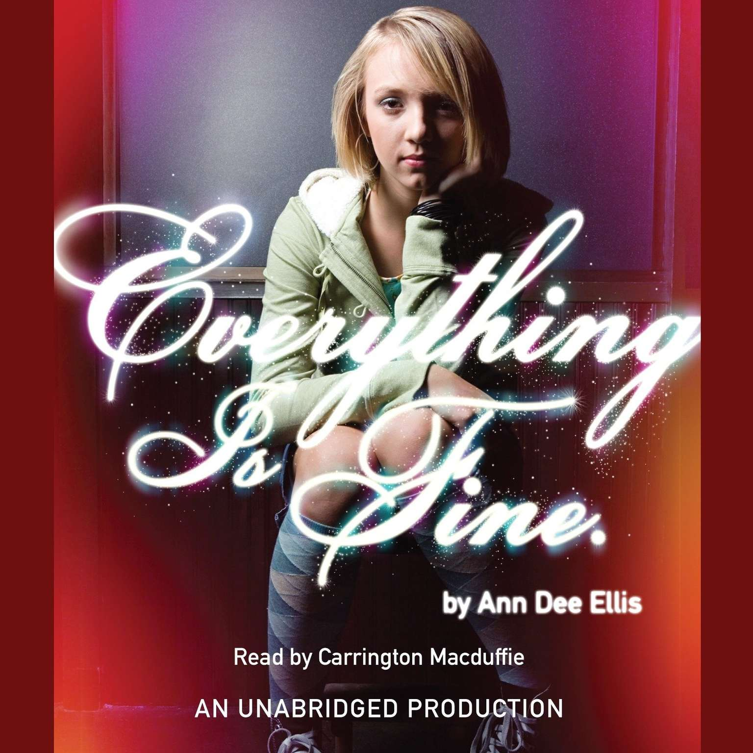 Printable Everything is Fine. Audiobook Cover Art