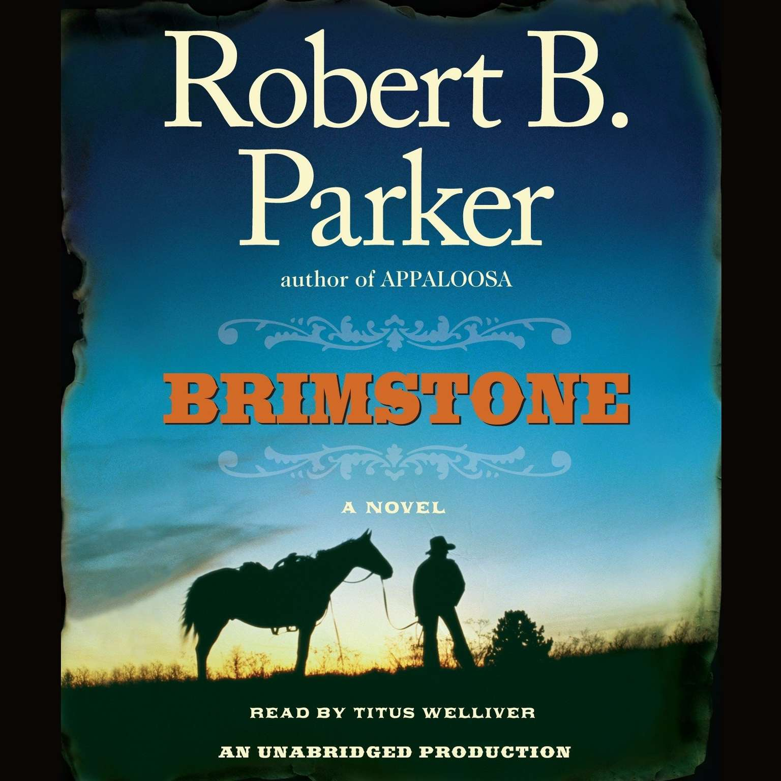 Printable Brimstone Audiobook Cover Art