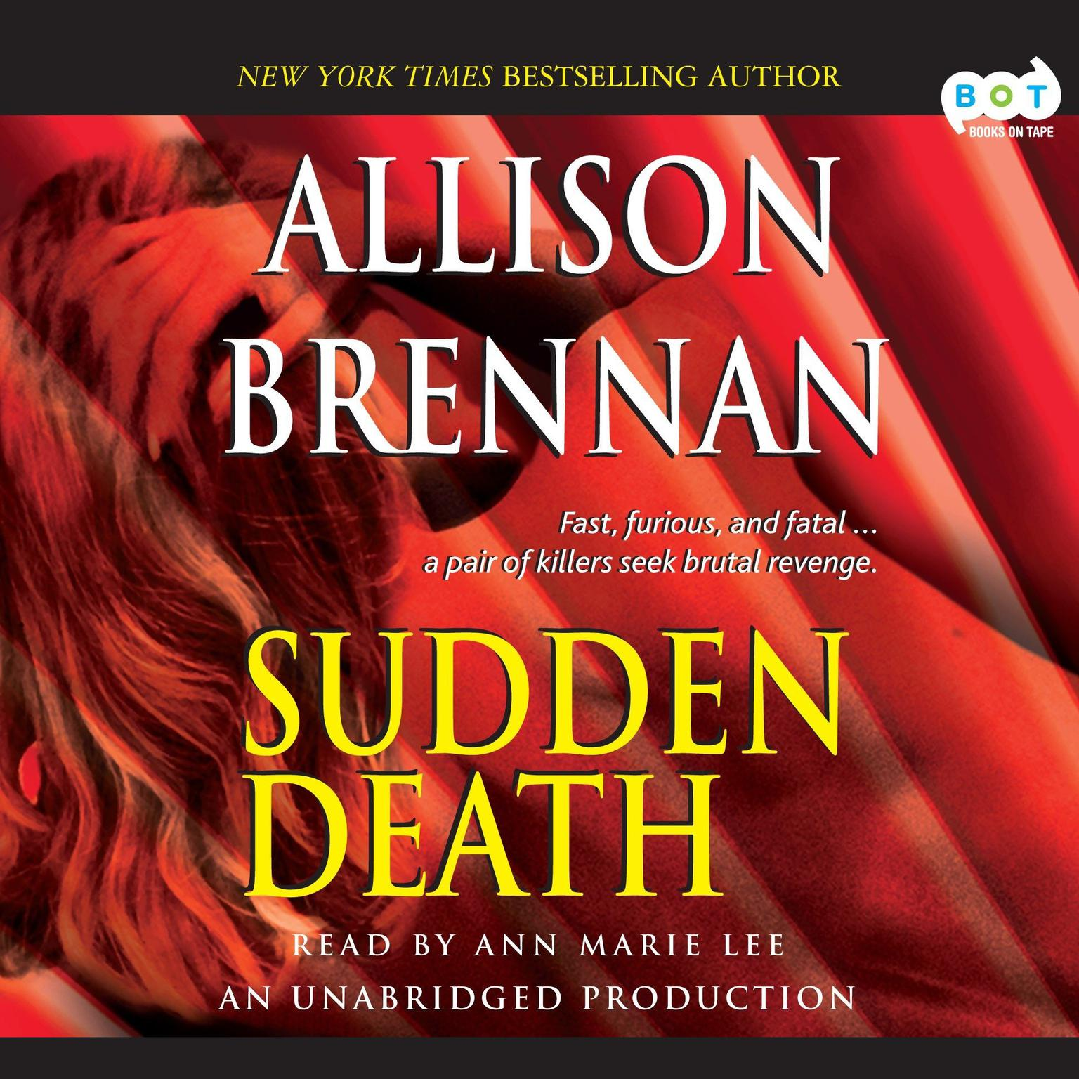 Printable Sudden Death: A Novel of Suspense Audiobook Cover Art