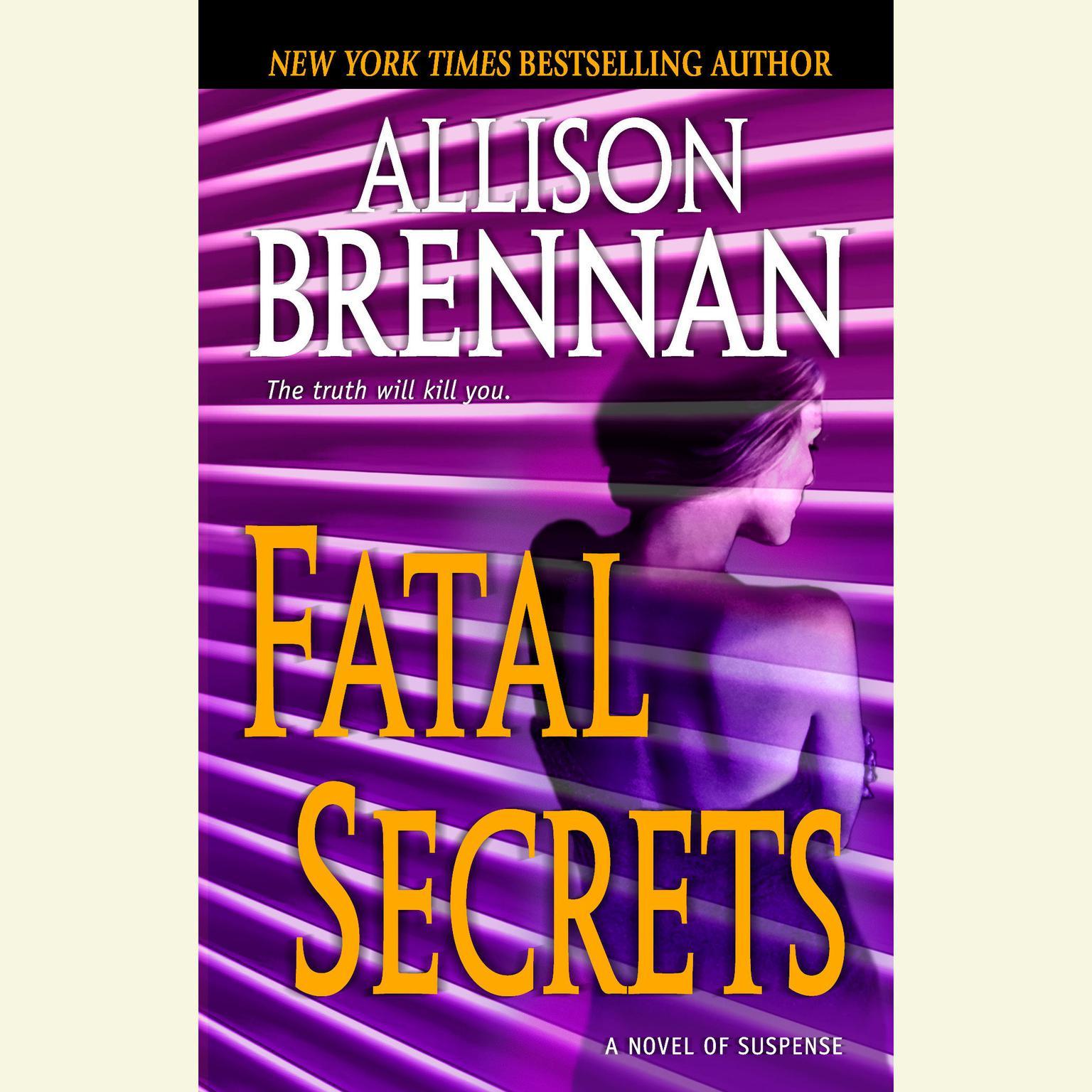 Printable Fatal Secrets: A Novel of Suspense Audiobook Cover Art