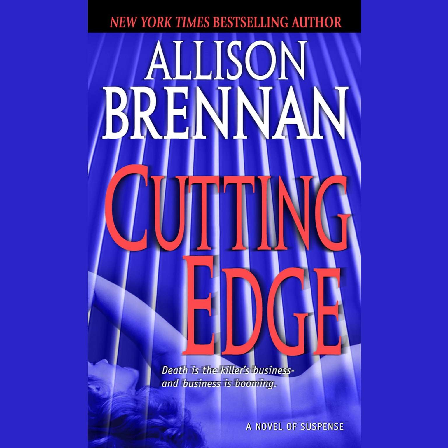 Printable Cutting Edge: A Novel of Suspense Audiobook Cover Art