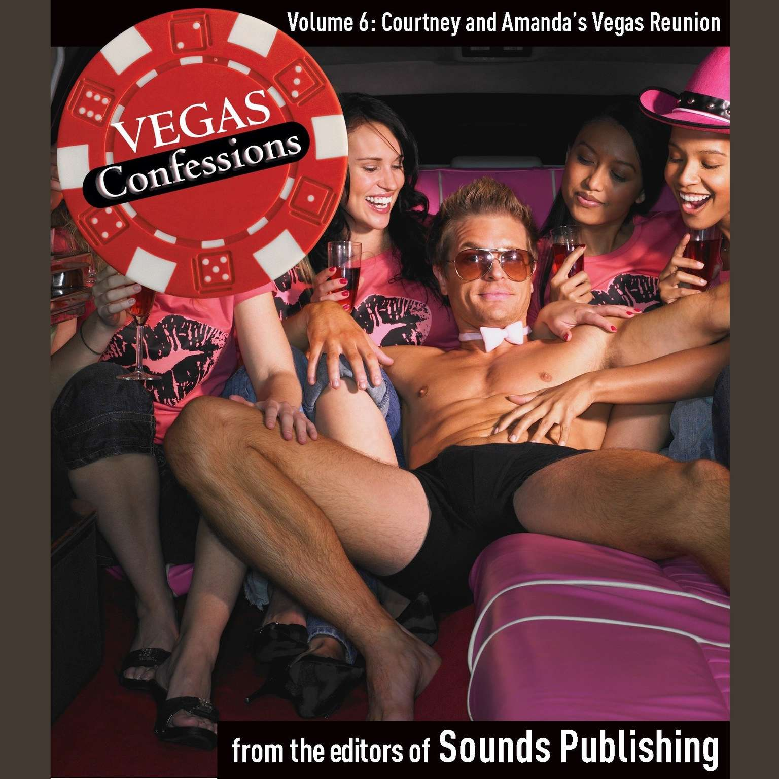 Printable Vegas Confessions 6: Courtney and Amanda's Vegas Reunion Audiobook Cover Art