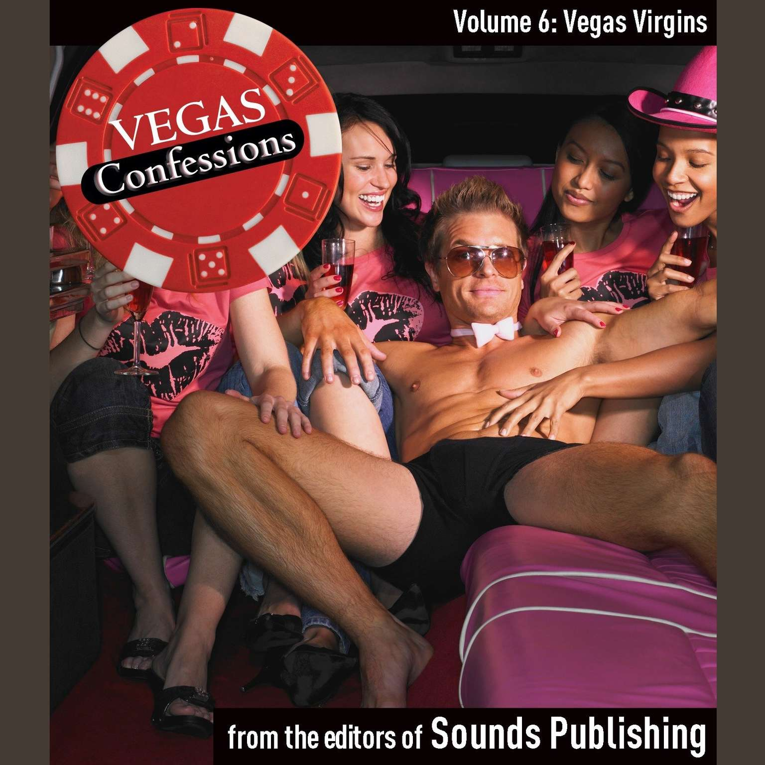 Printable Vegas Confessions 6: Vegas Virgins Audiobook Cover Art