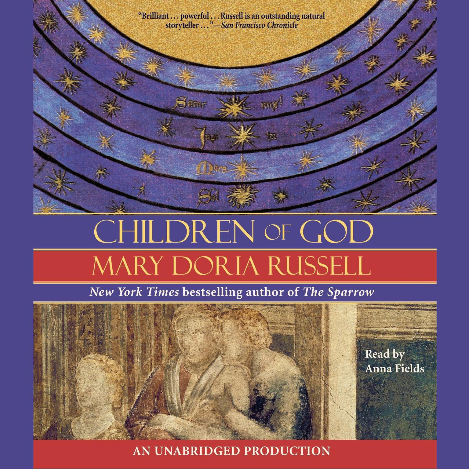 Printable Children of God Audiobook Cover Art