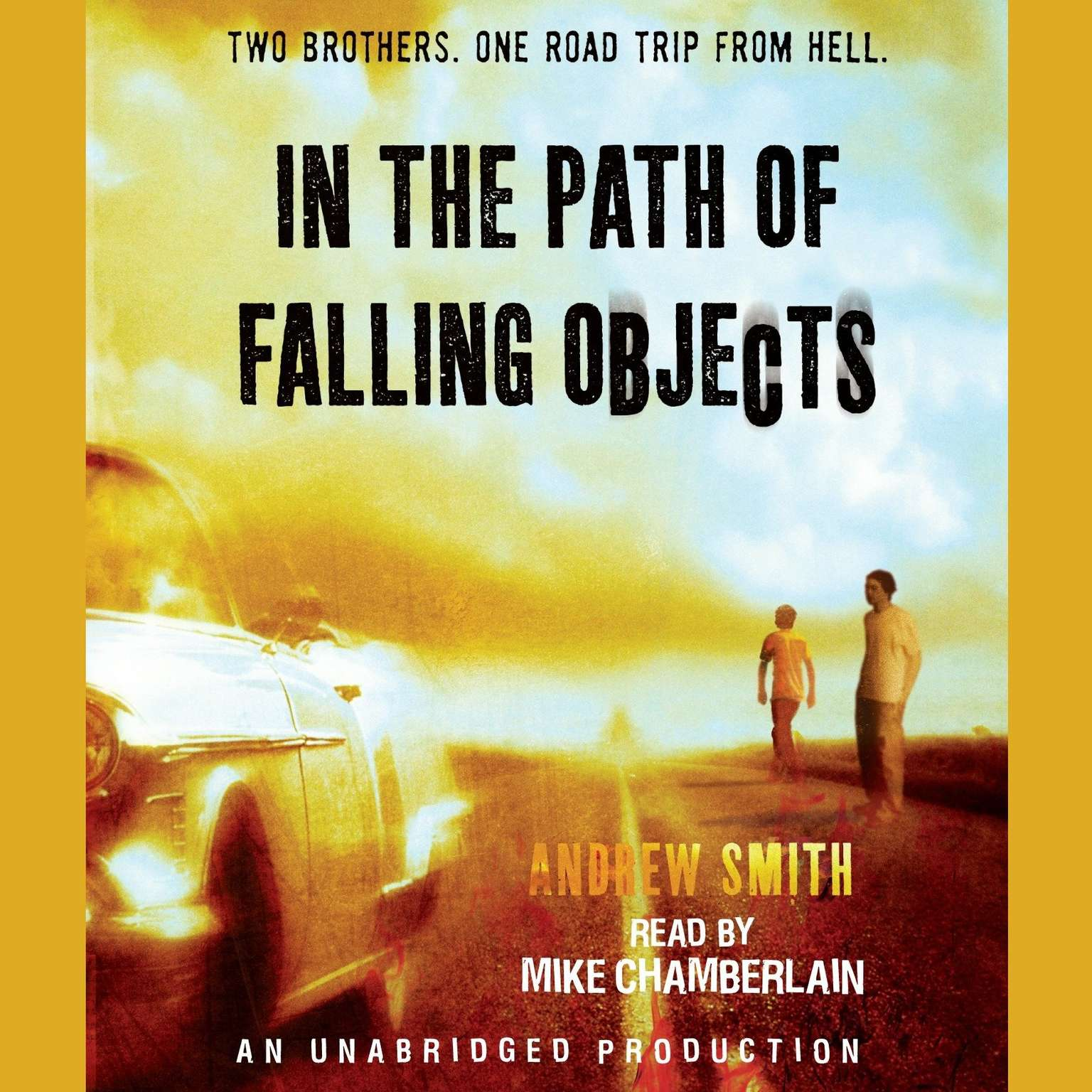Printable In the Path of Falling Objects Audiobook Cover Art
