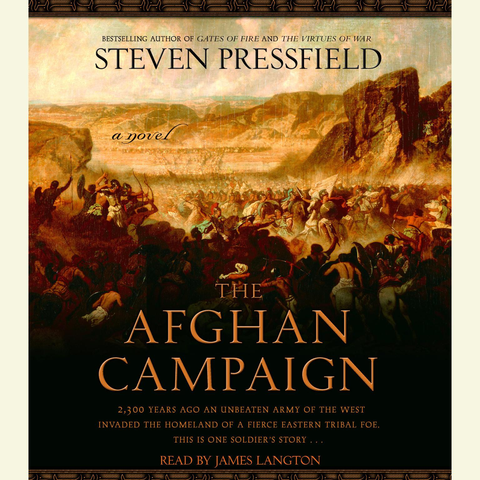 Printable The Afghan Campaign: A novel Audiobook Cover Art