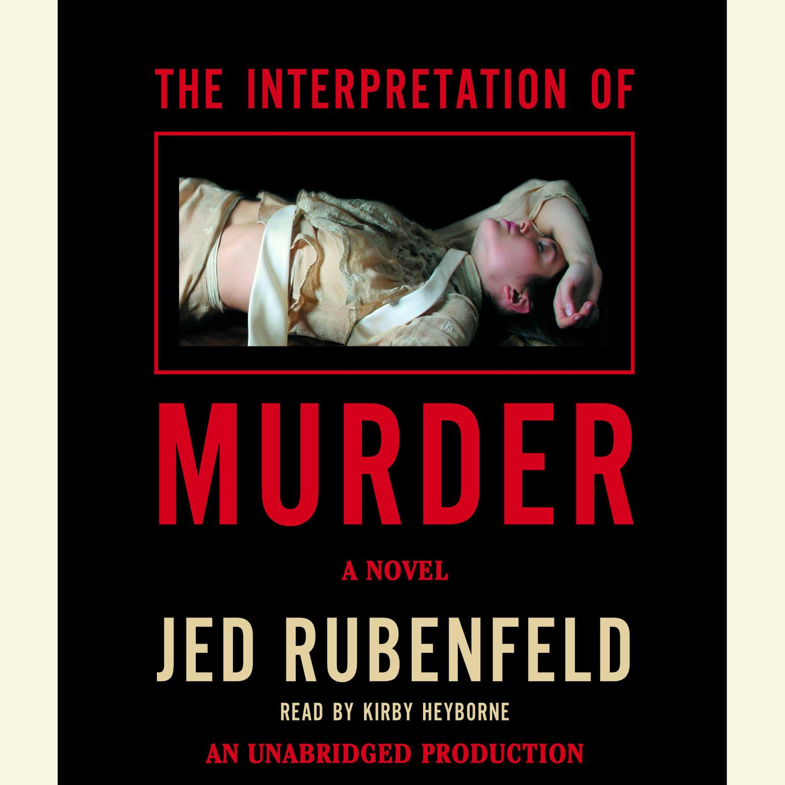 Printable The Interpretation of Murder Audiobook Cover Art