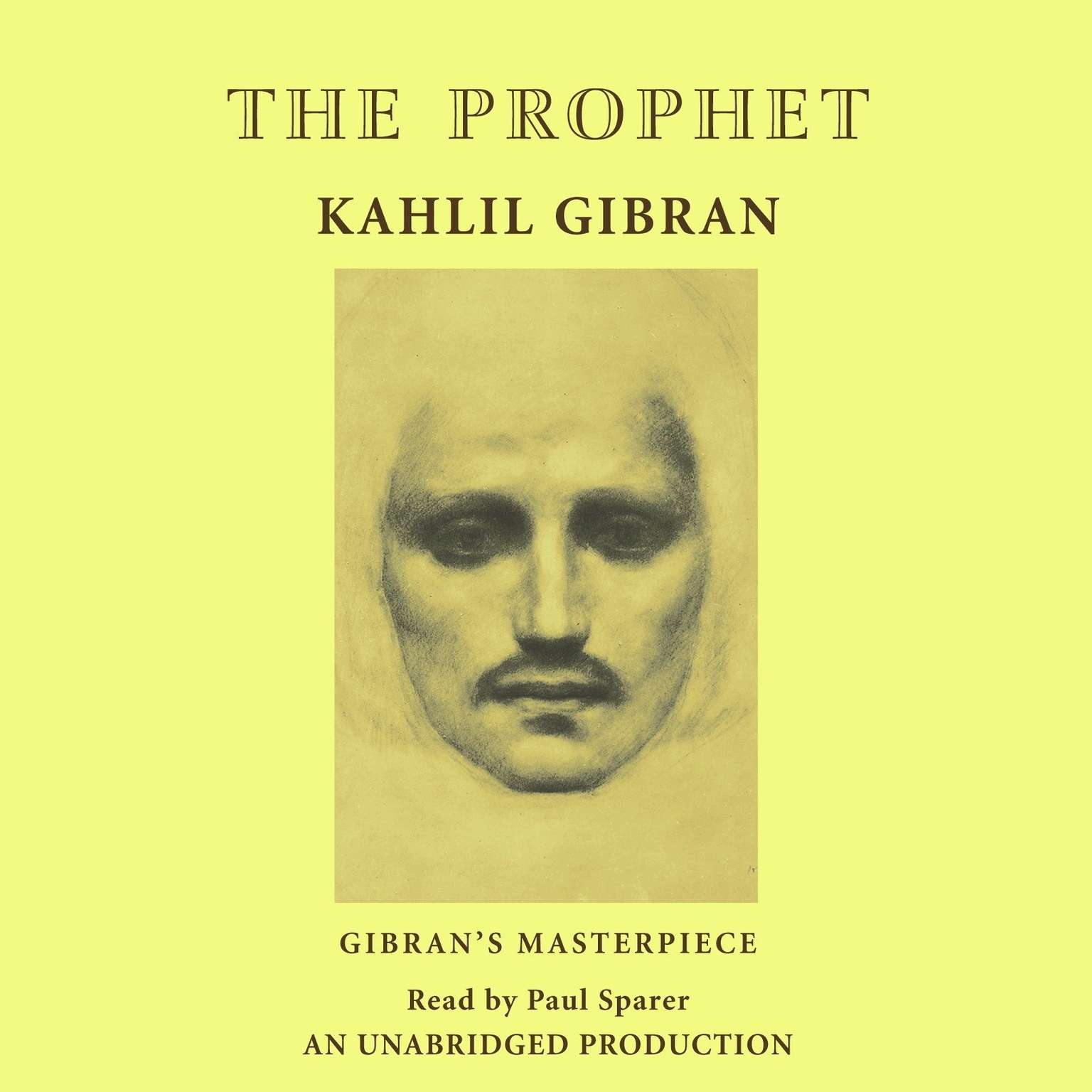 Printable The Prophet Audiobook Cover Art