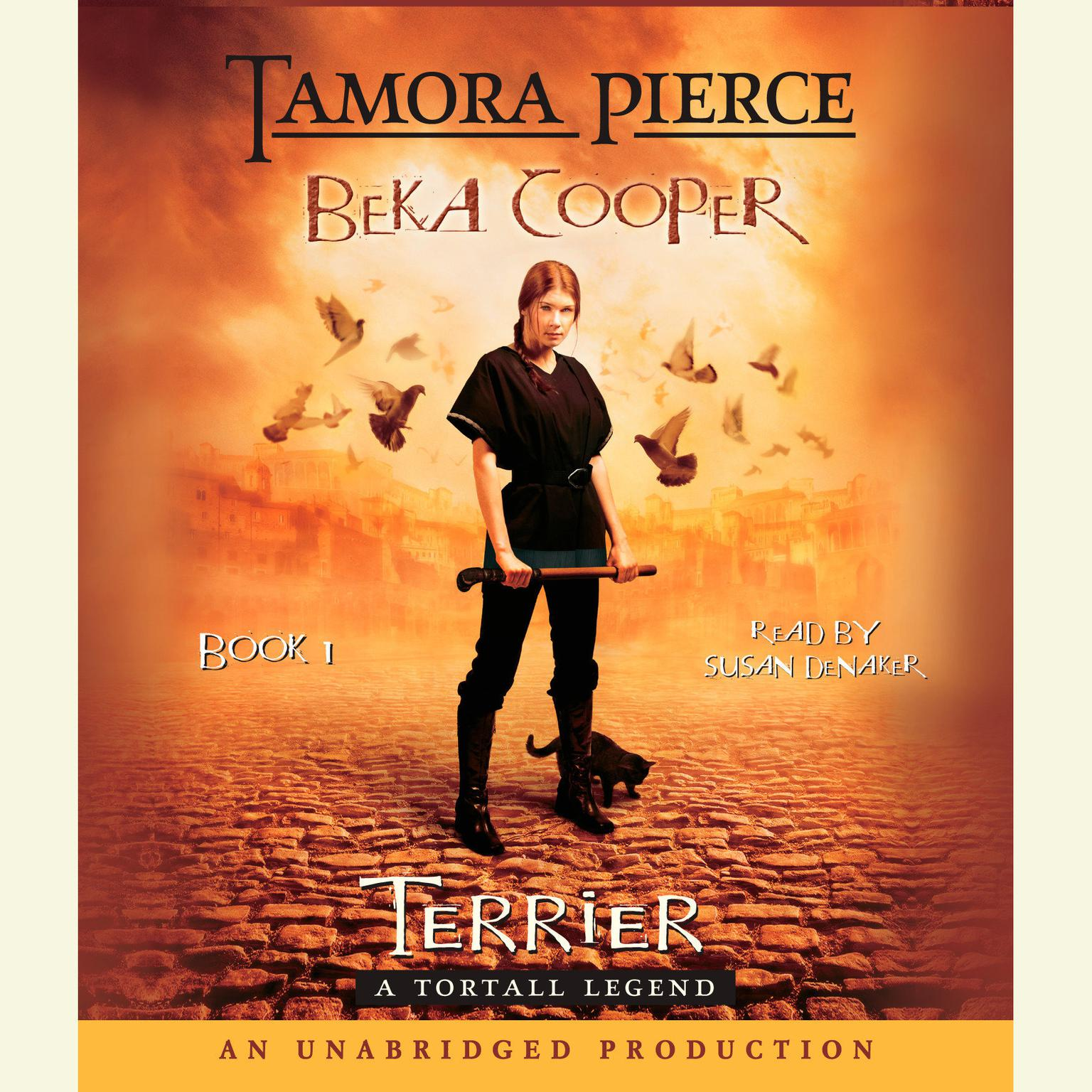 Printable Terrier: The Legend of Beka Cooper #1 Audiobook Cover Art