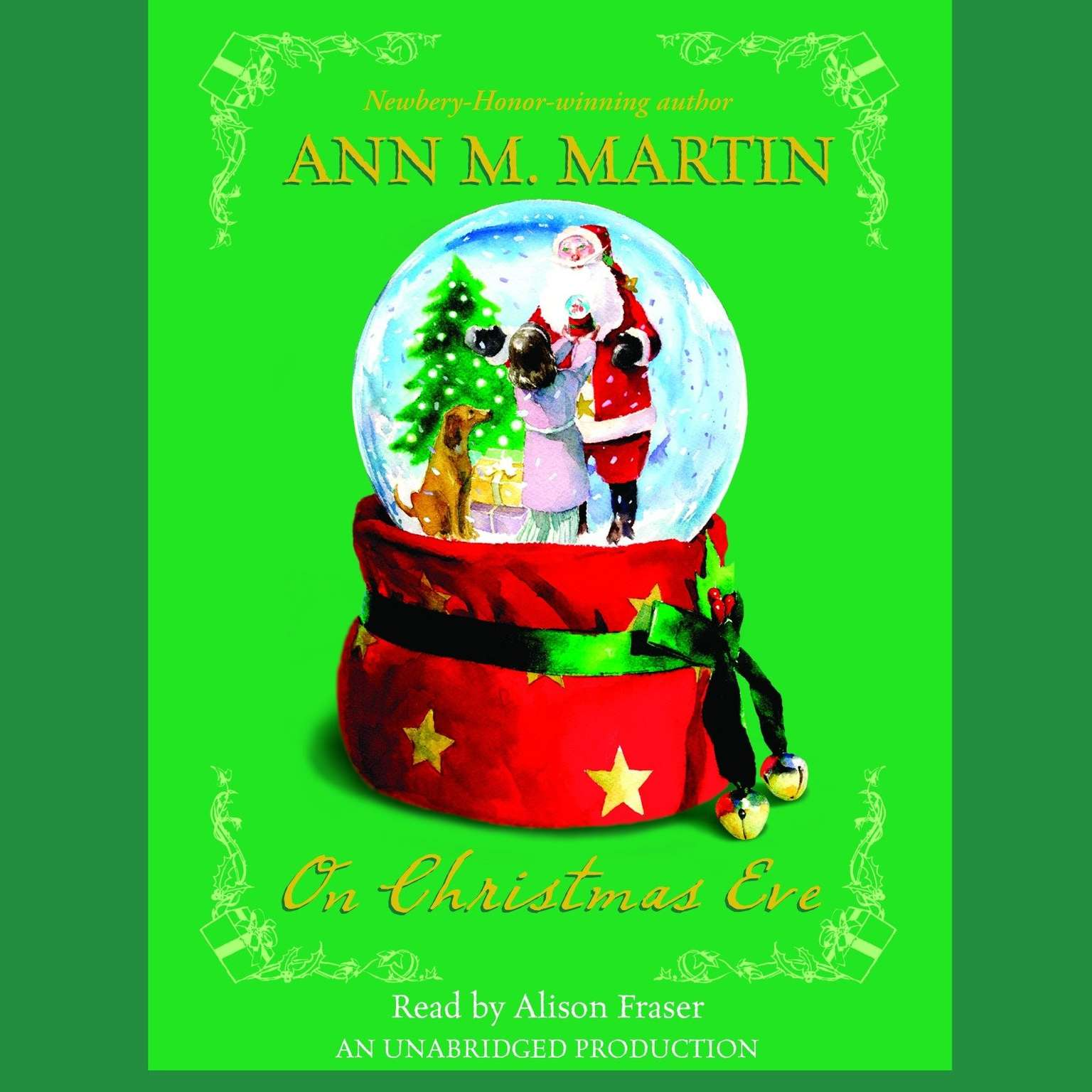 Printable On Christmas Eve Audiobook Cover Art