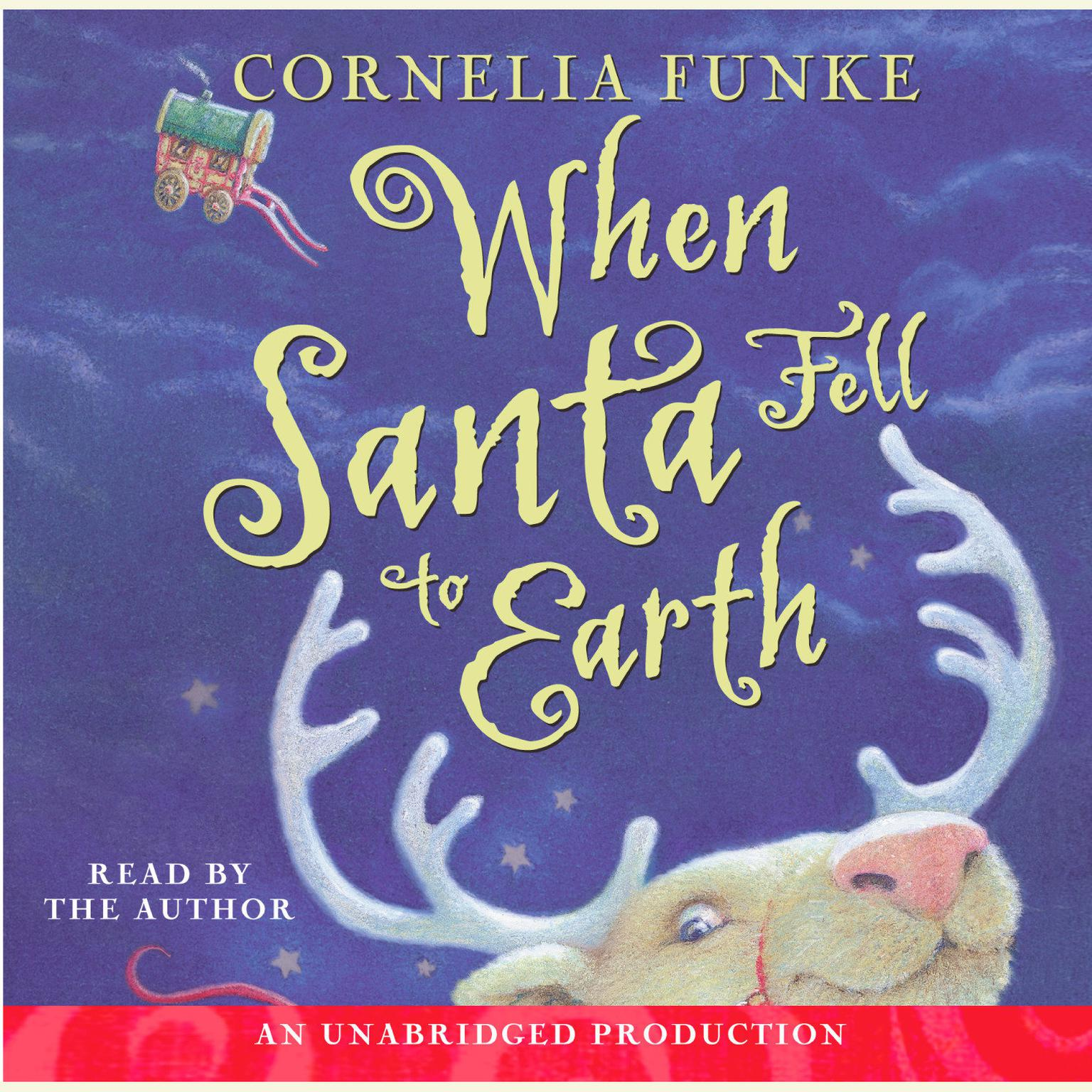 Printable When Santa Fell to Earth Audiobook Cover Art